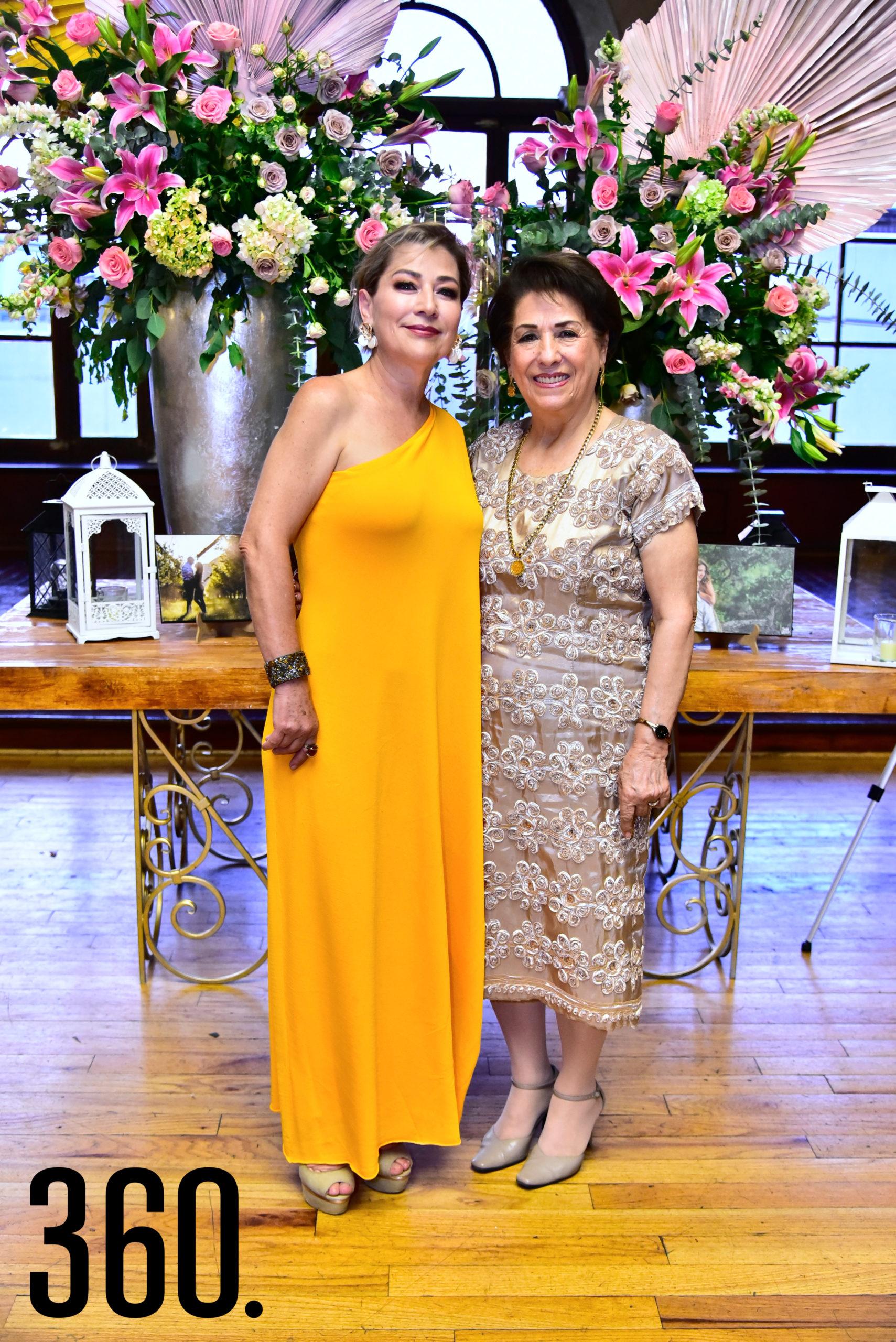 Patricia Tamez Leal y Teresa de Jesús Burciaga García.