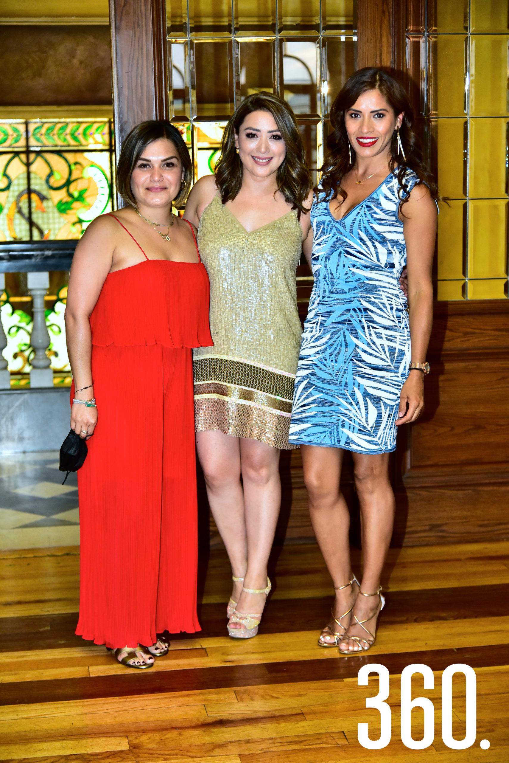 Brennda Macías, Diana Mendoza y Denisse Escamilla.