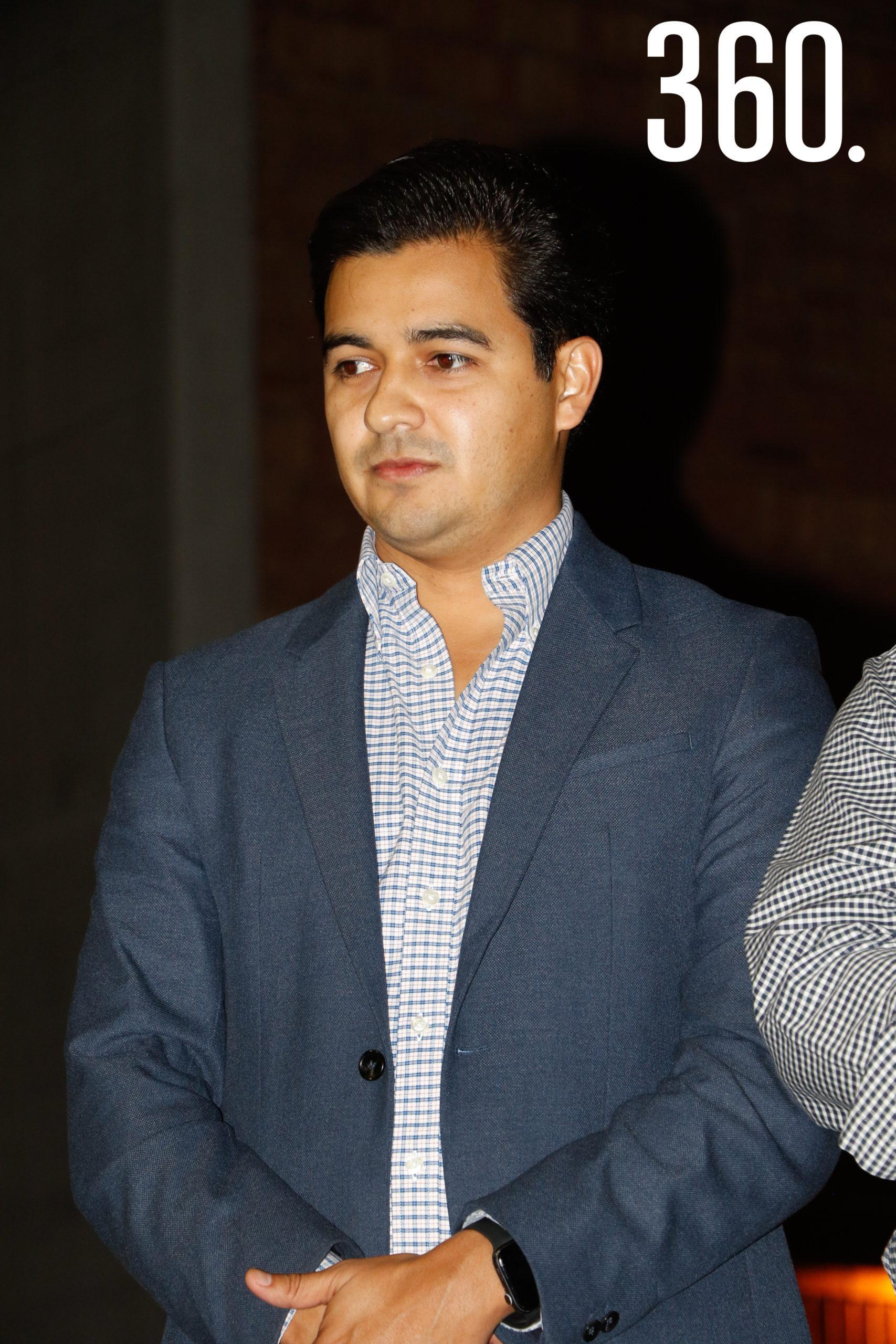 Eder López, titular de la Cámara de Restaurantes.