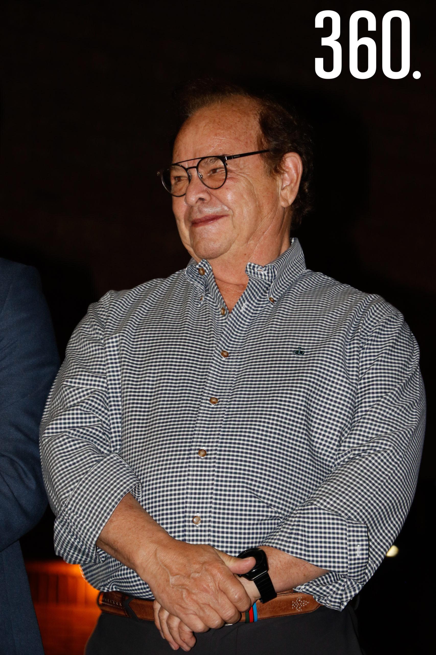 Roberto Bernal, secretario de salud.