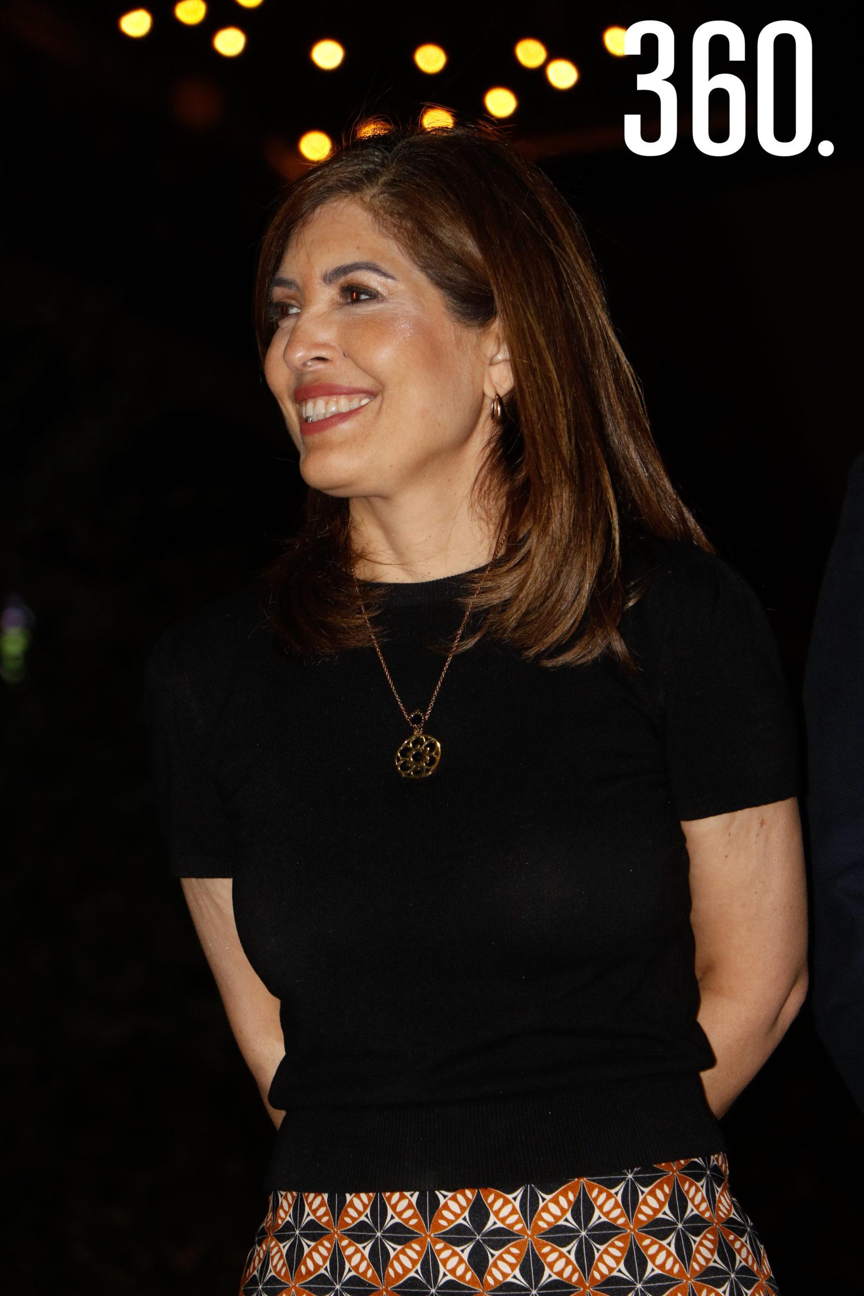Sofía Camil, secretaria de cultura.