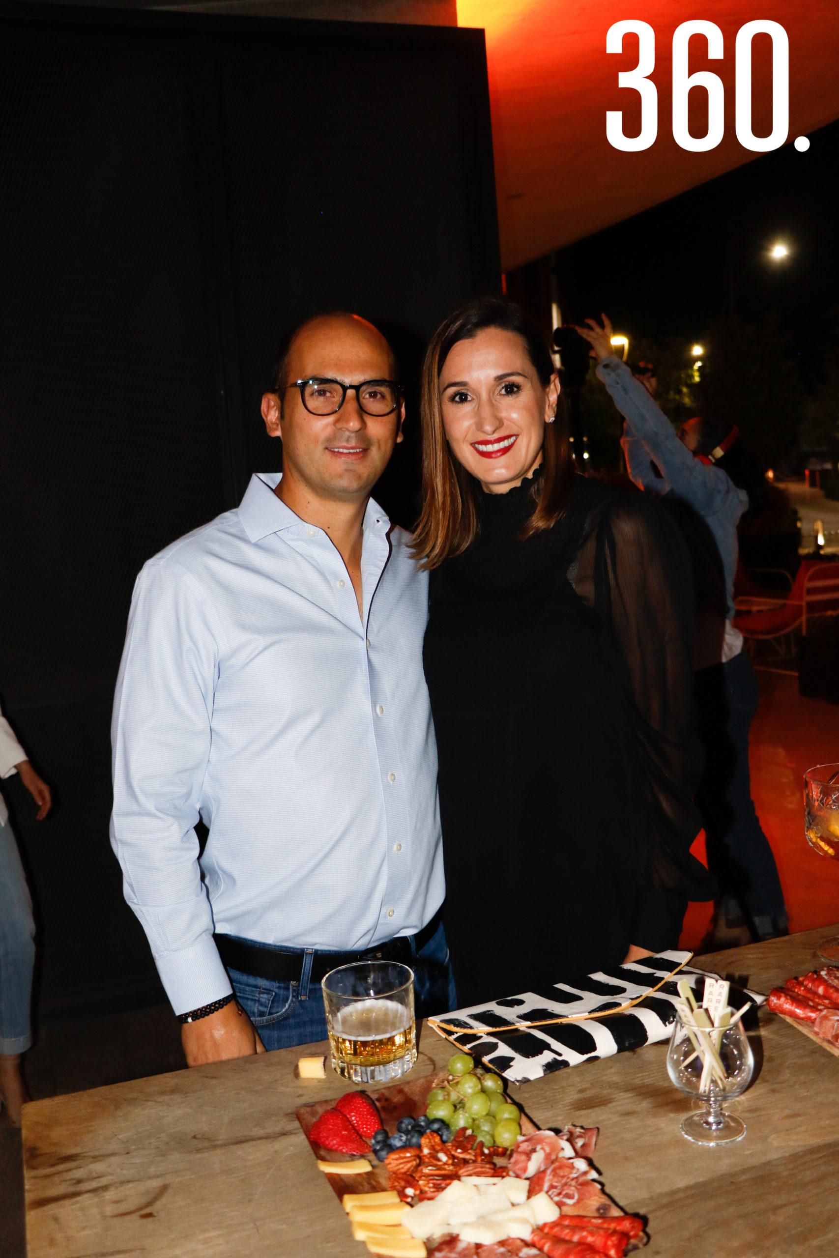 Alberto Recio y Mae García.