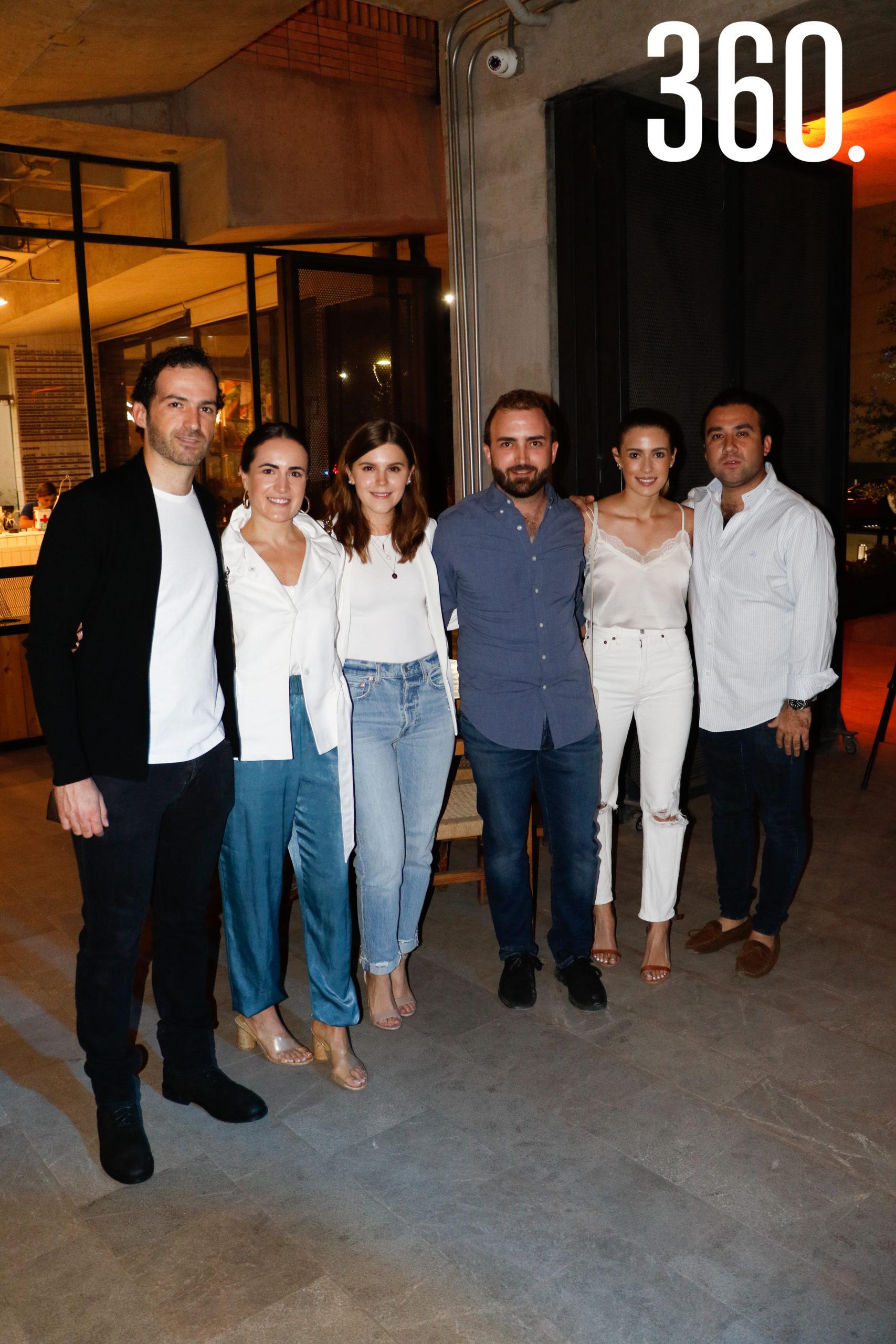 Juan Carlos Pérez, Claudia López, Bárbara Cárdenas, Pedro Gentiloni, Patricia Gil y Samuel Salazar.