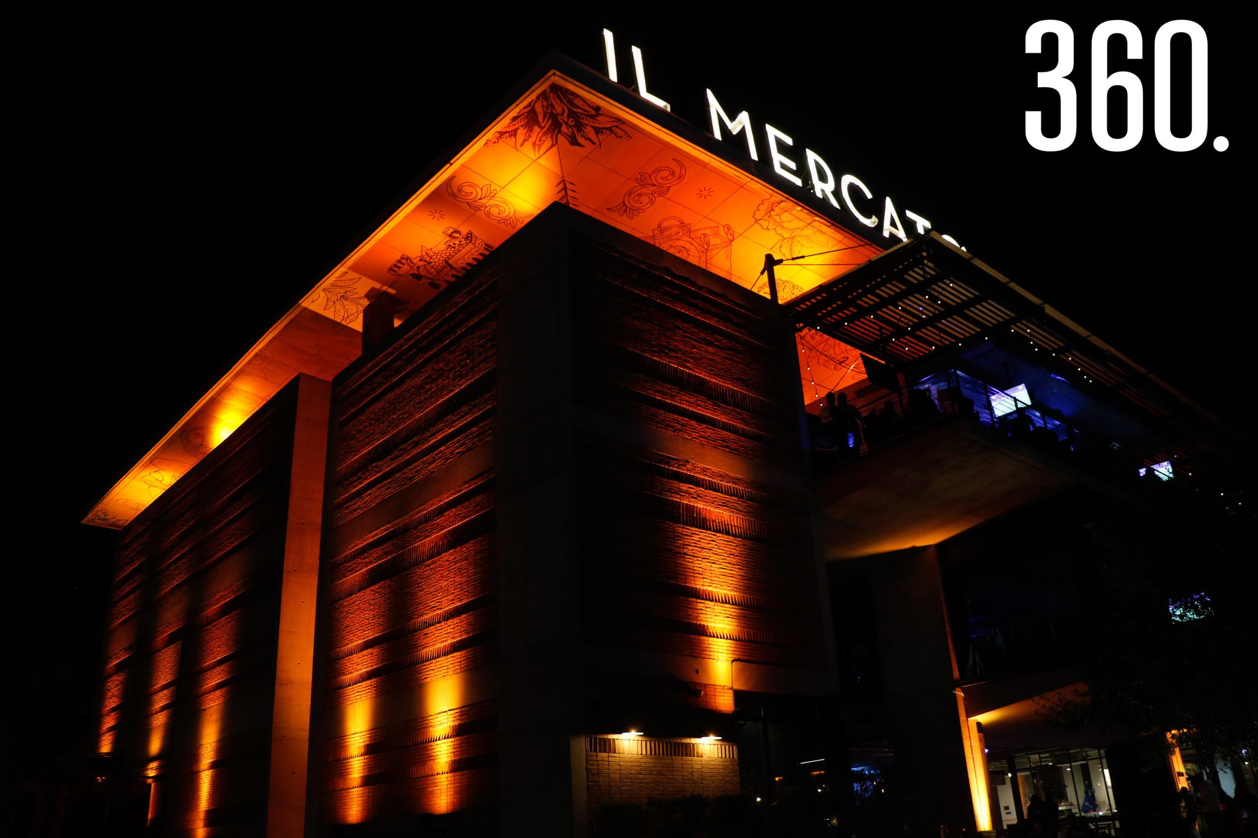 Nueva iluminación de Il Mercato.