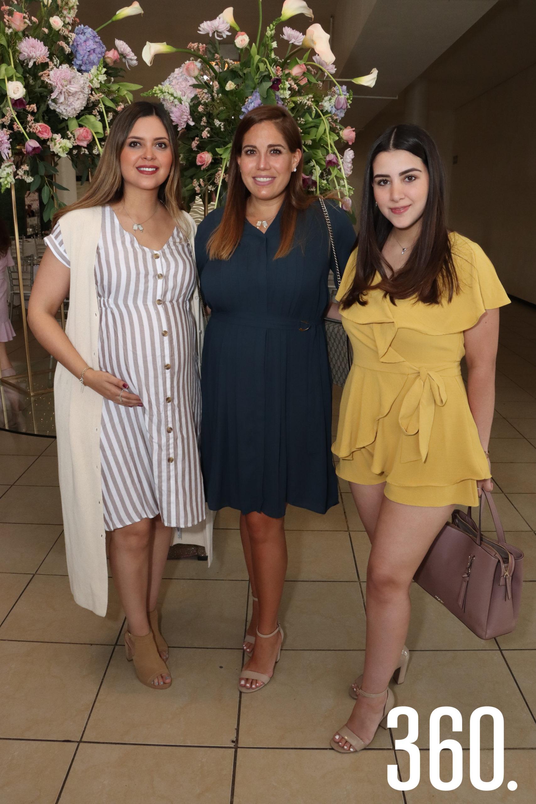 Gabriela Gómez, Melissa Guerra y Andrea Arce.