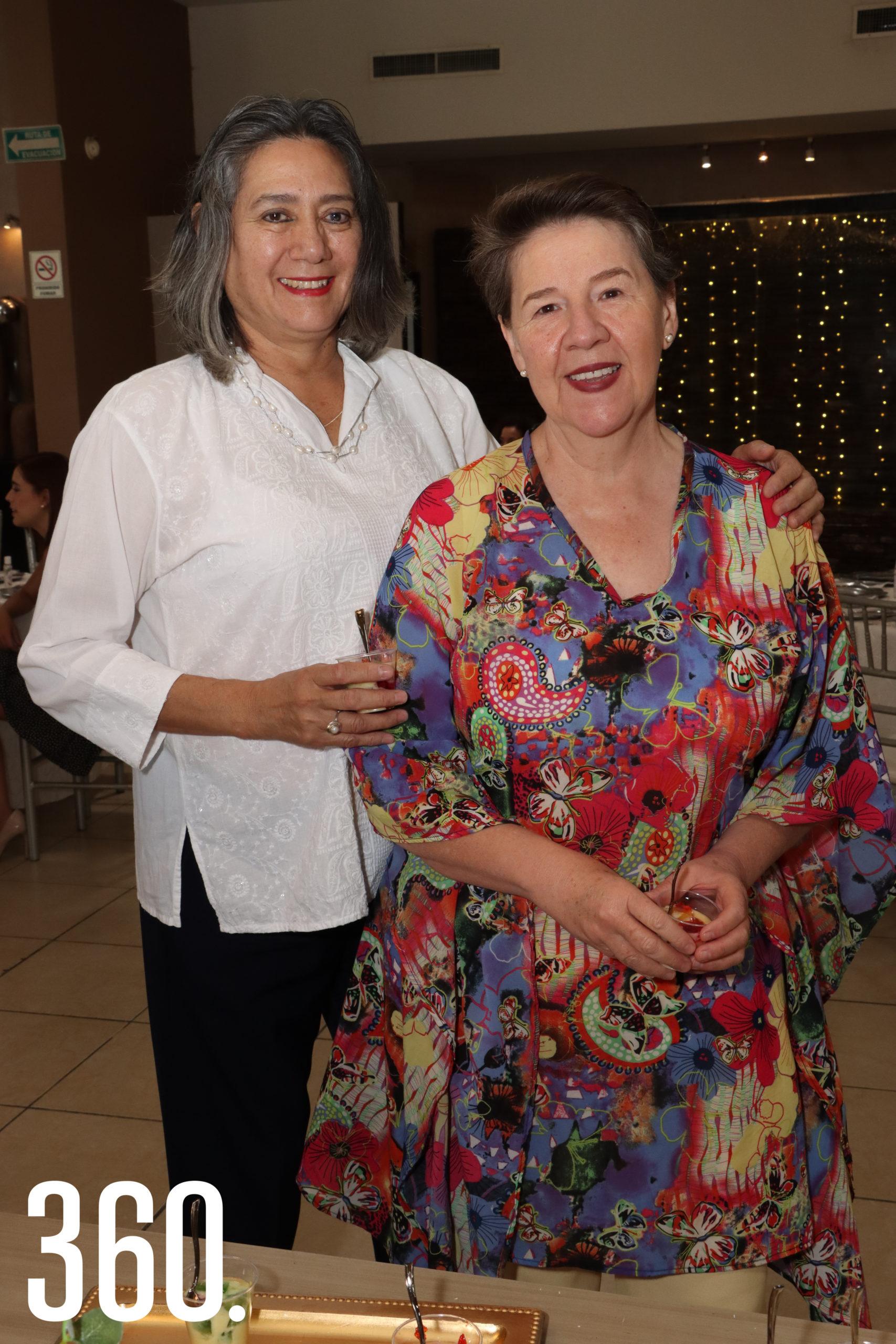 Patricia Leos y Marcela Ottosen.