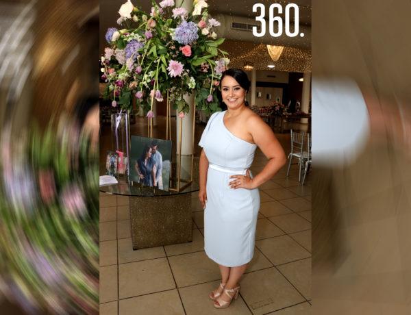 Paulina Rangel Aguirre se casará el siete de agosto, por lo cual asistió a su primera despedida de soltera.