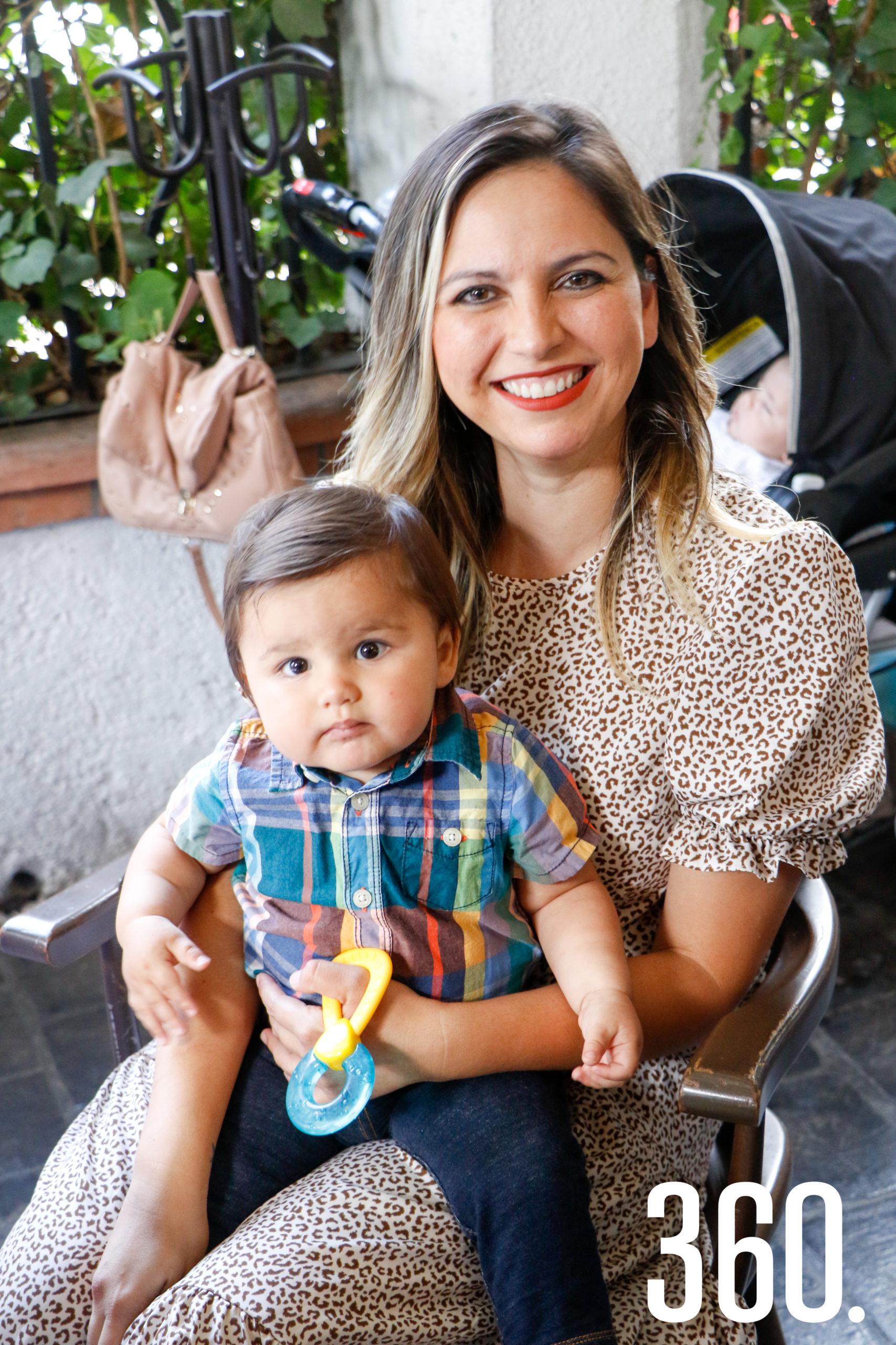 Sofía Valdés y Luka Argüelles.