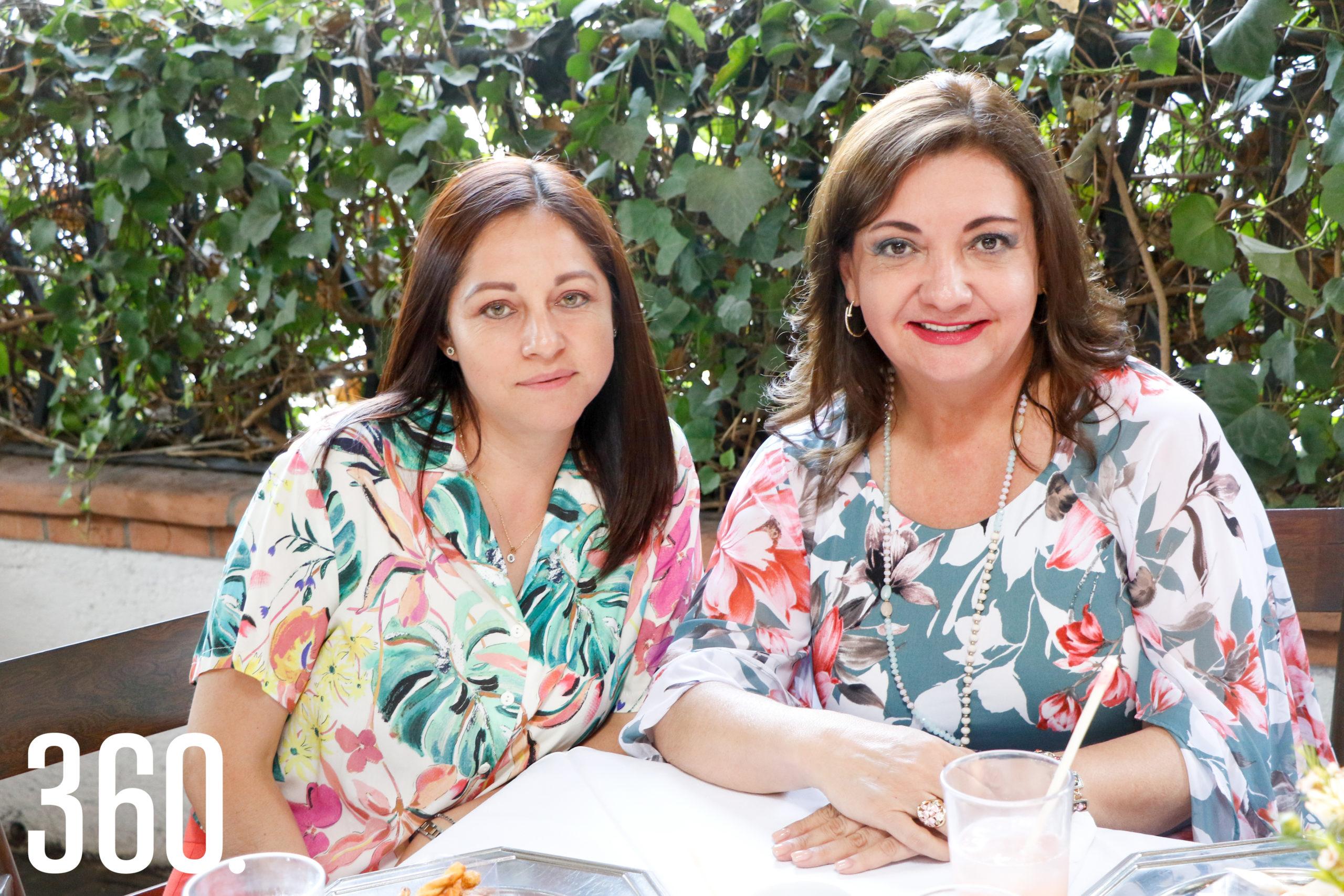 Lourdes de Garza y Rossy Ibarra.