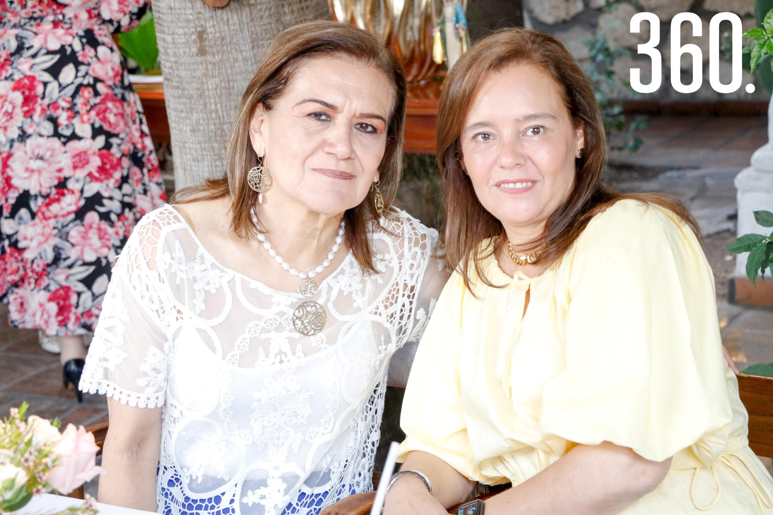 Alma Rodríguez y Alma Fuentes.