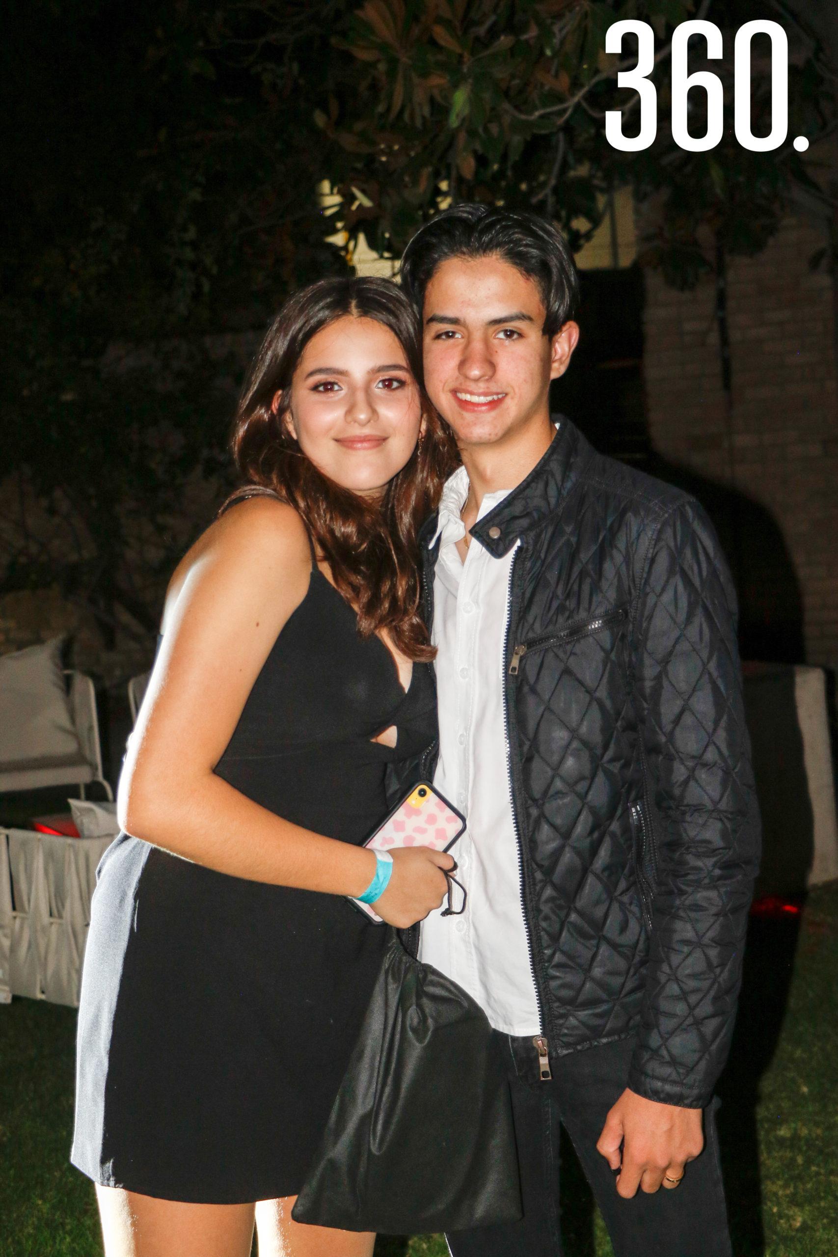 Eva Vázquez y Juan Pablo González.