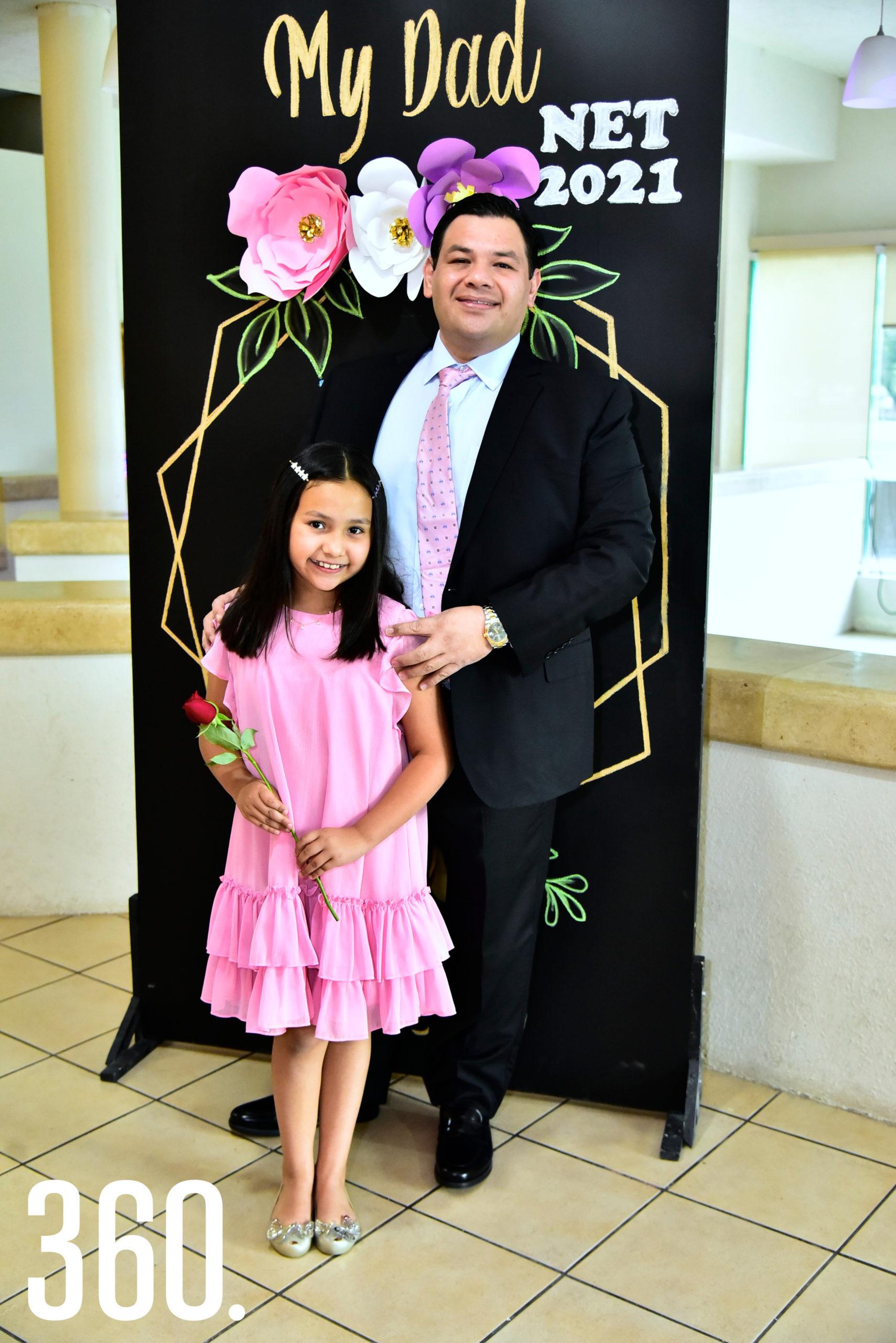 Michelle y Enrique Zúñiga.