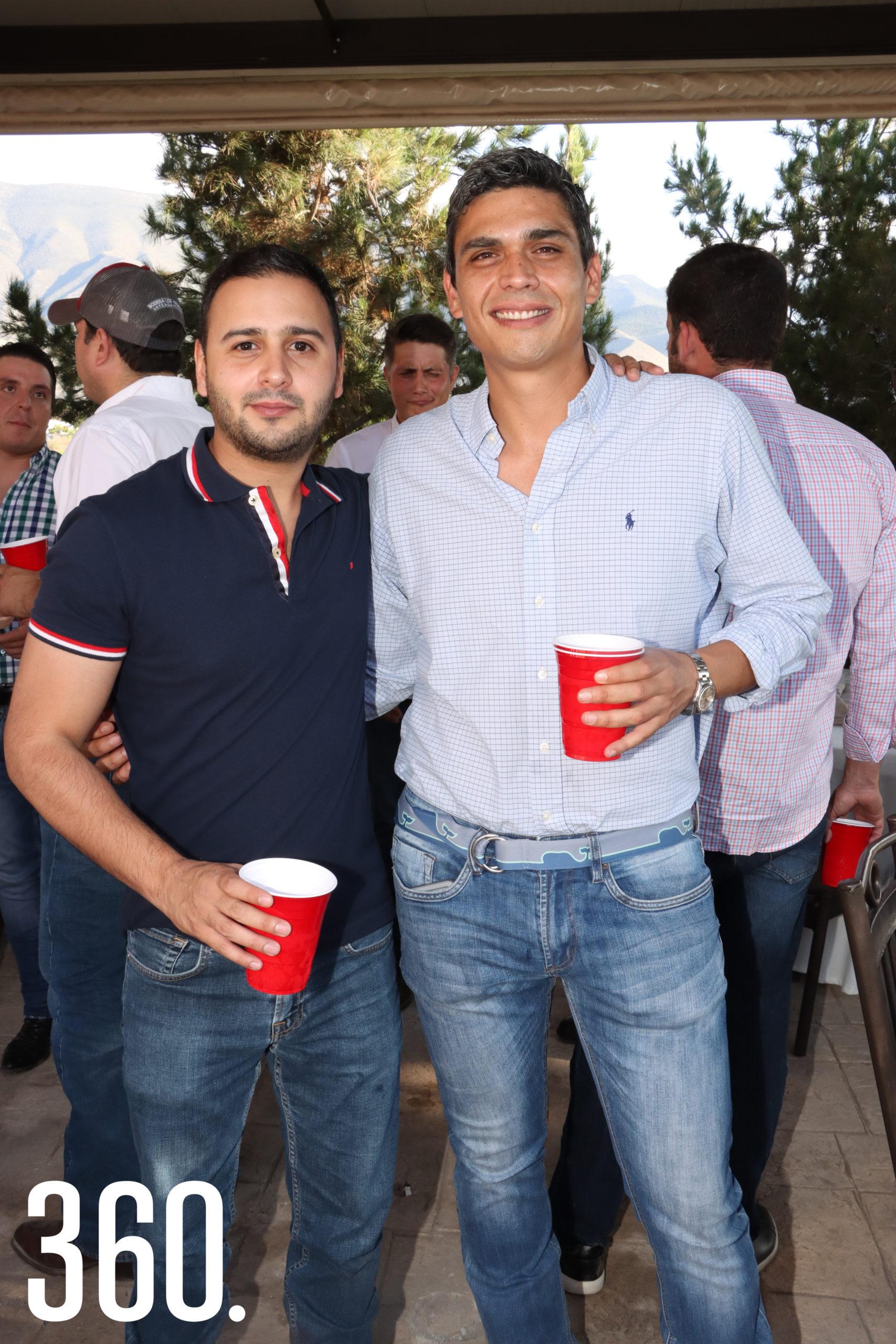 Mauricio Sánchez y Armando Prado.