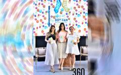 Gaby Escalante, Faby Ferretiz y Luz María Bayardo.