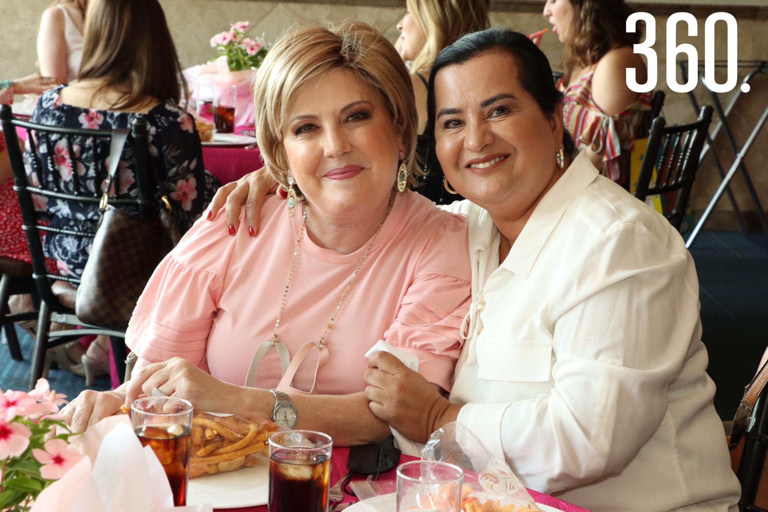 Patricia Martínez y Norma Reyes.