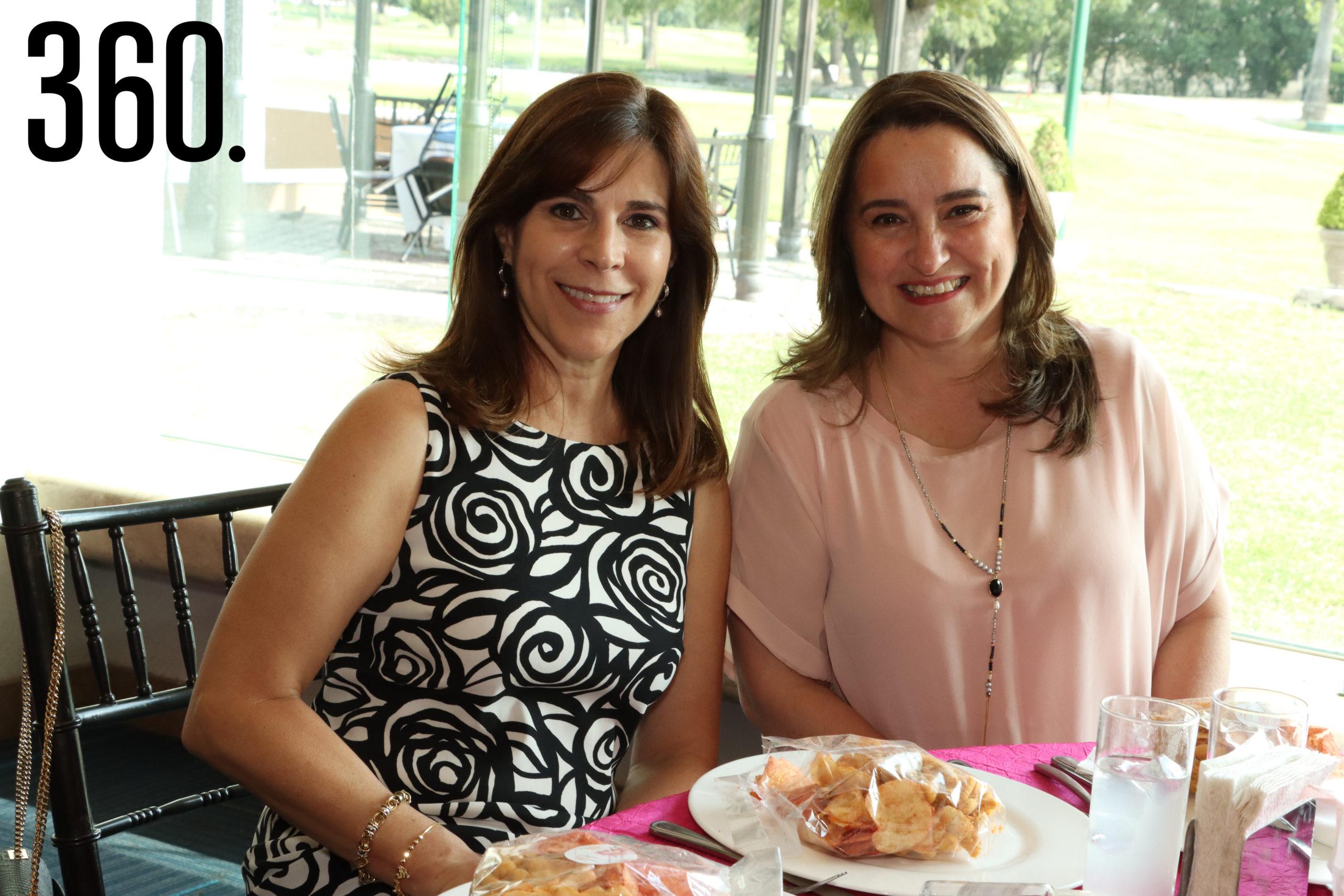Leticia Ochoa y Luisa Soto.