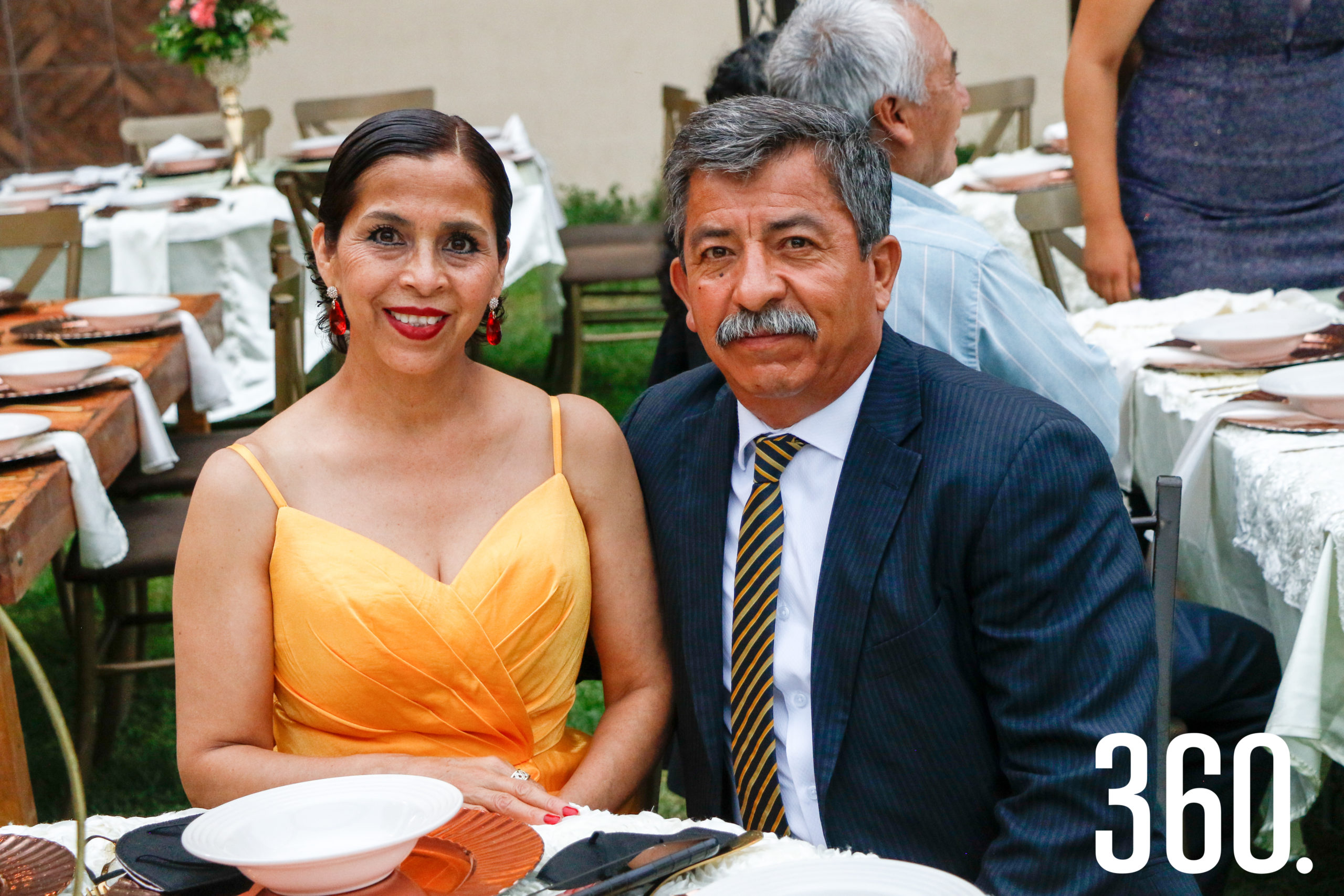 Nora González y Miguel Valdés.