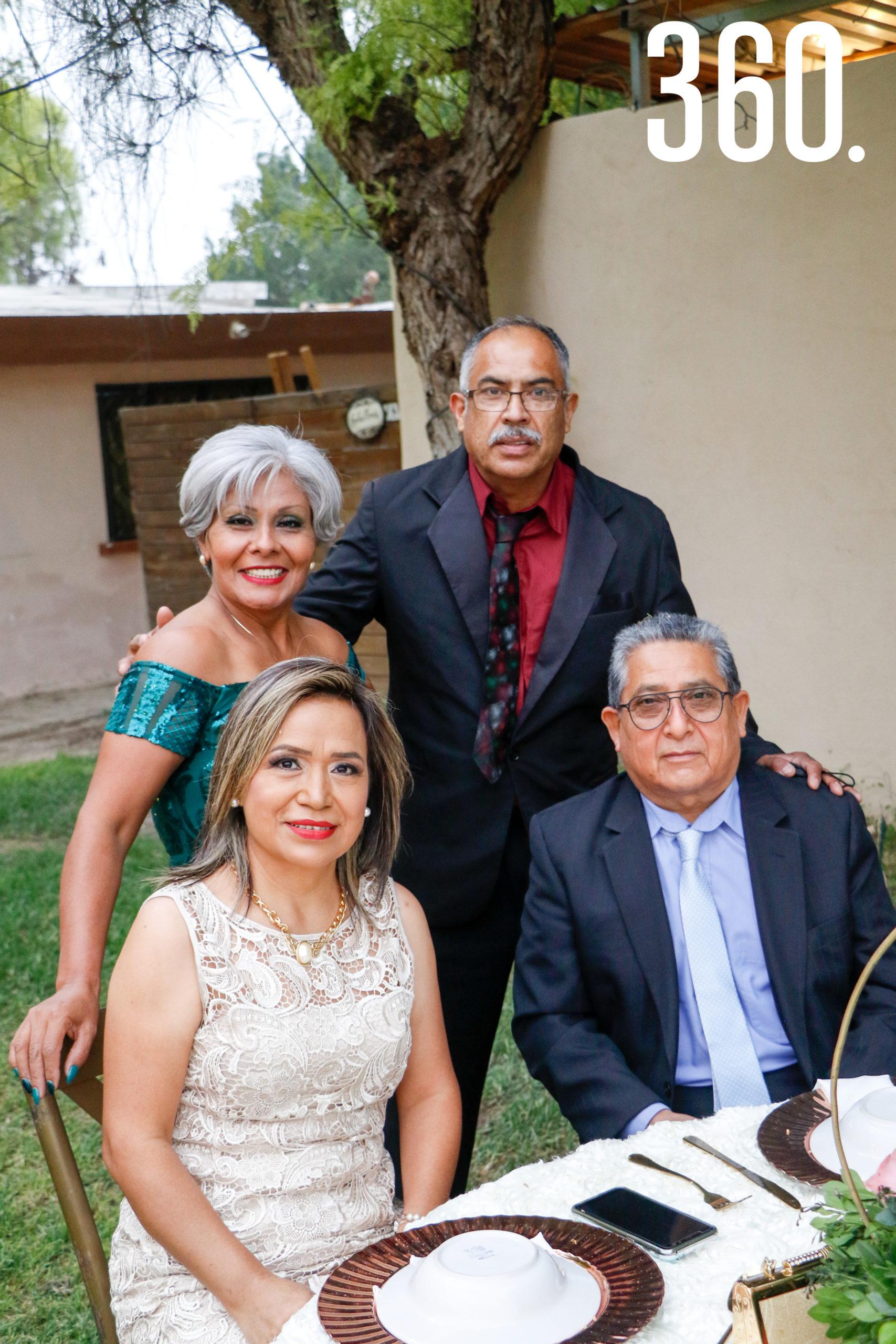 Ana Luisa Valadez, Sergio Valdés, Tommy Cedeño y Mauricio Frausto.