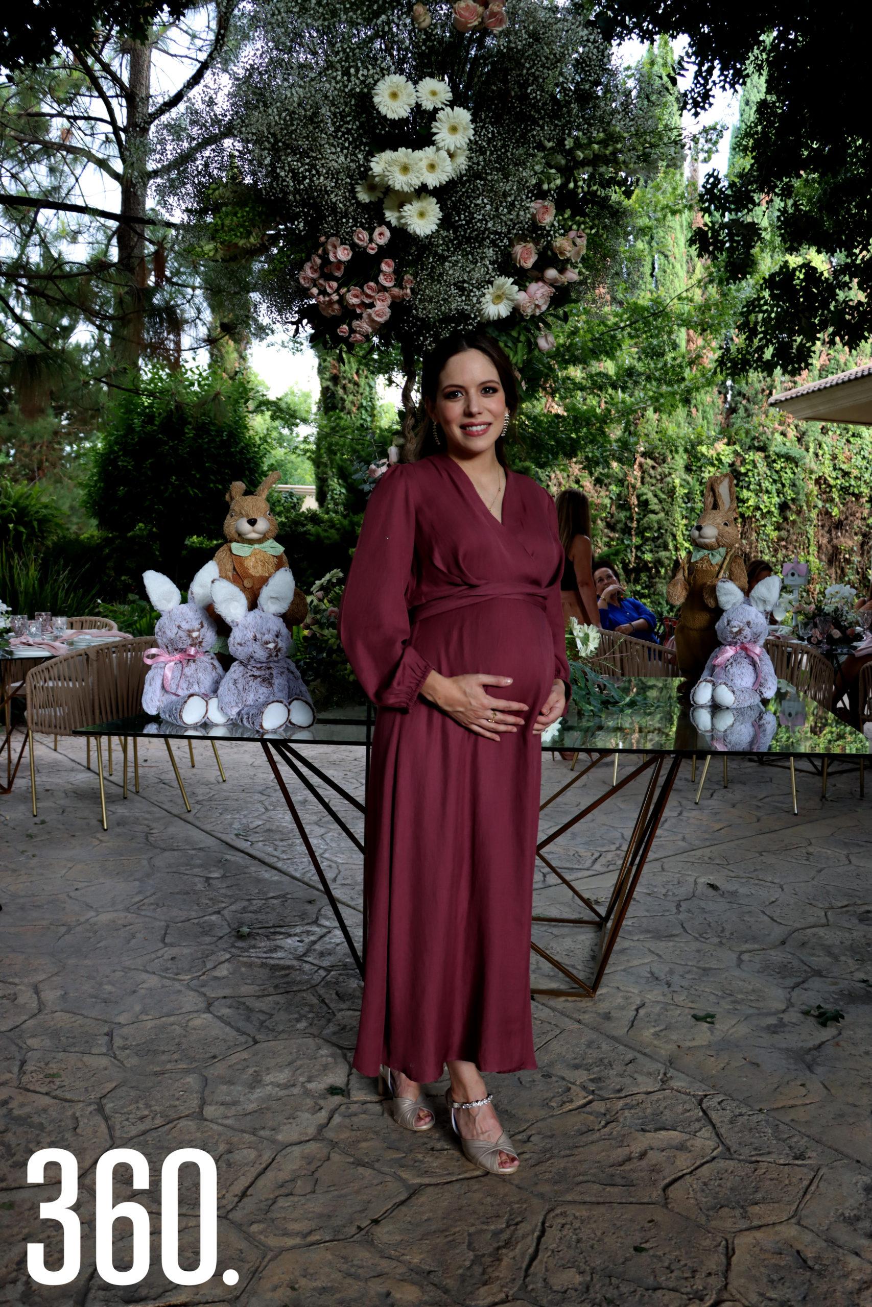 Natalia Peña de López.