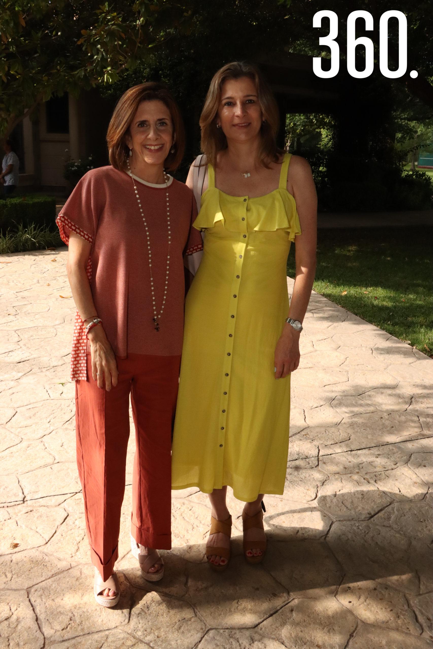 Conchalupe Arizpe y Silvia Perales.