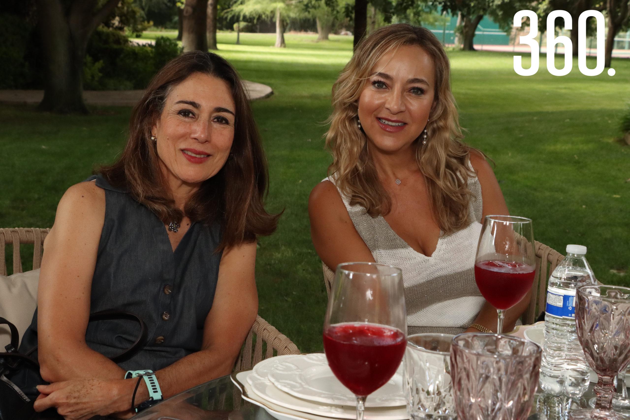 Mayita de Arsuaga y Estela Aguirre.