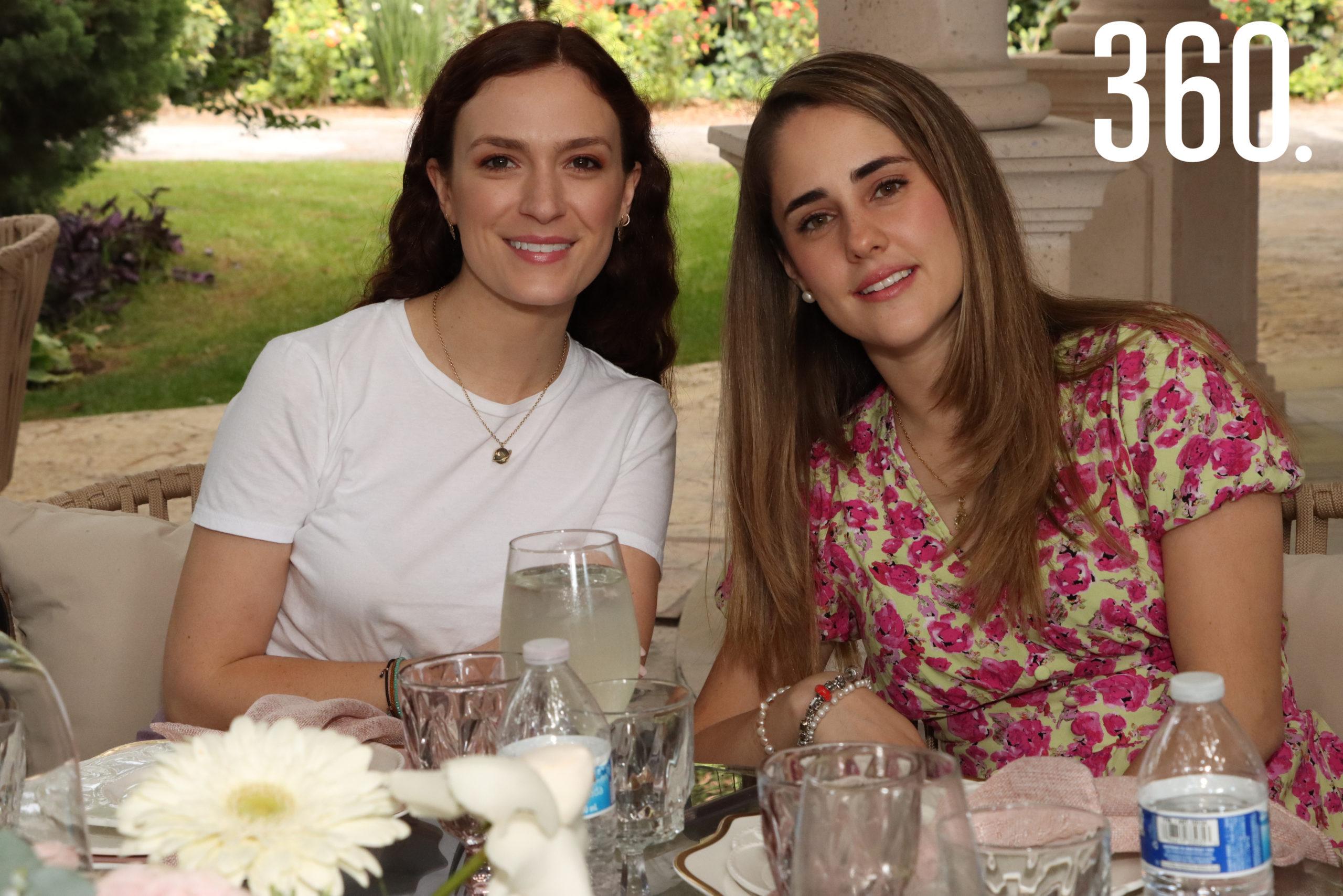 Mariana García y Cristina Elizondo.