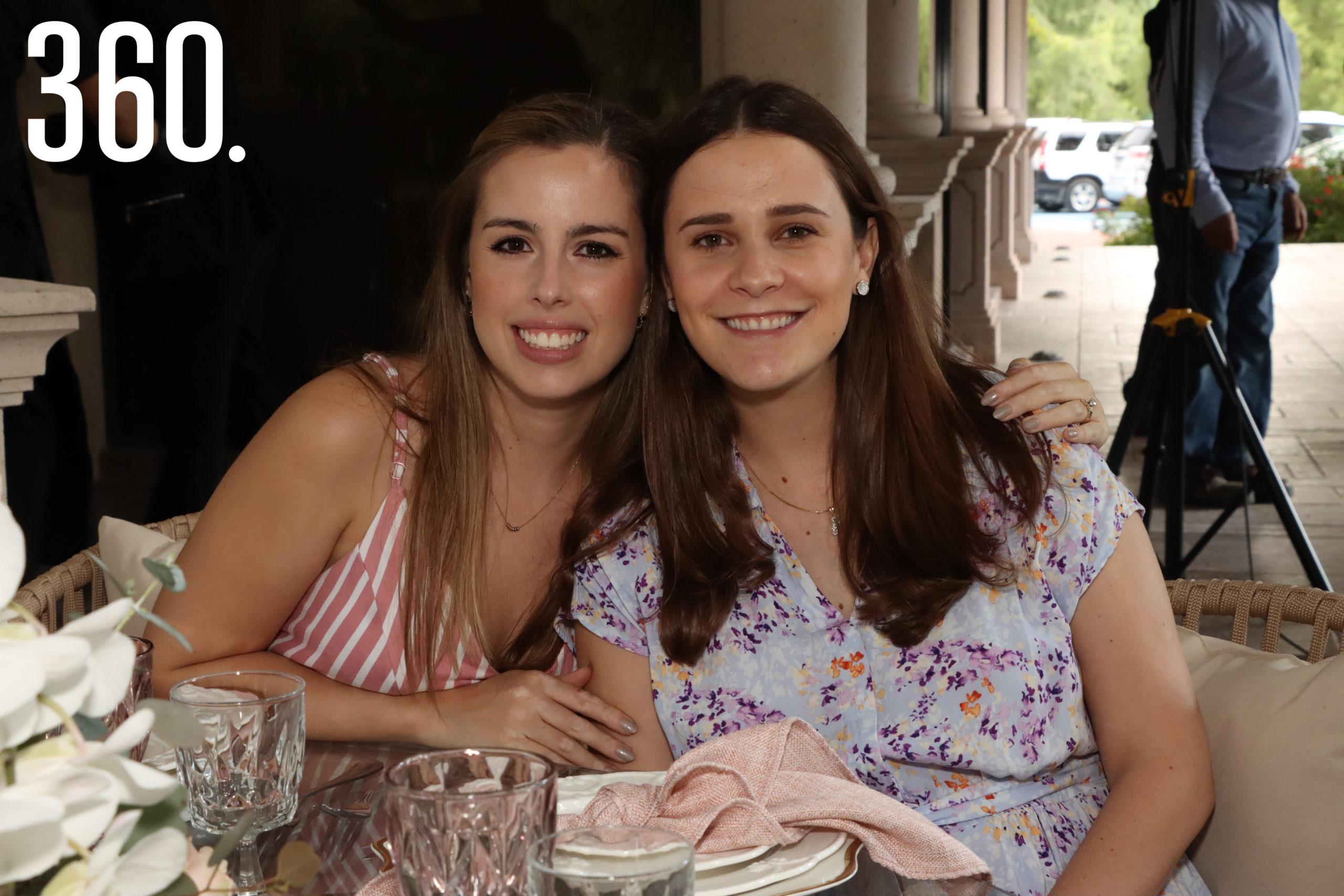 Andrea Recio y Ana Mary López.