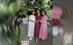 Magdis López y Magdis Cárdenas de López organizaron el festejo prenatal para Natalia Peña.