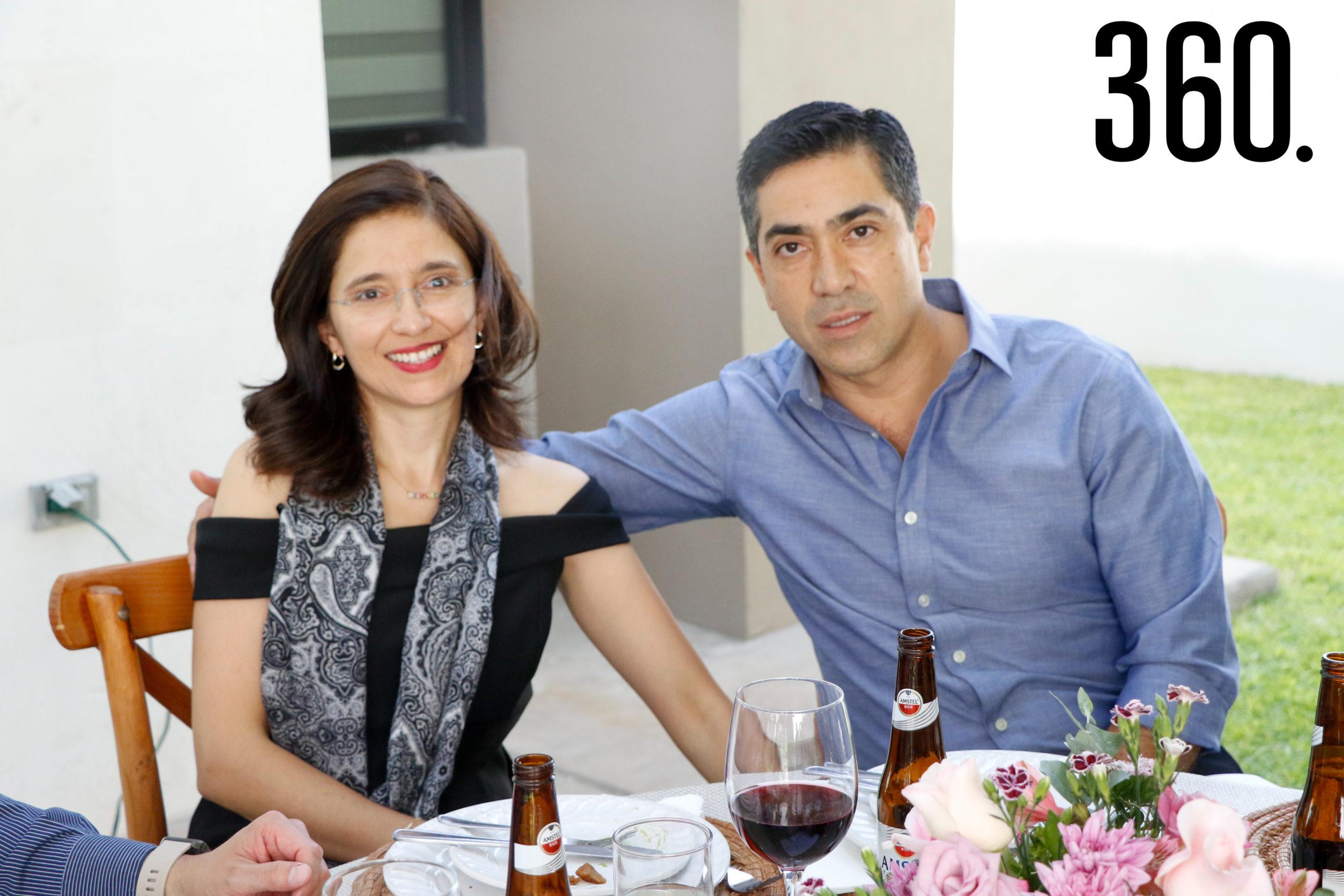 Edna Martínez y Ramiro Madrazo.