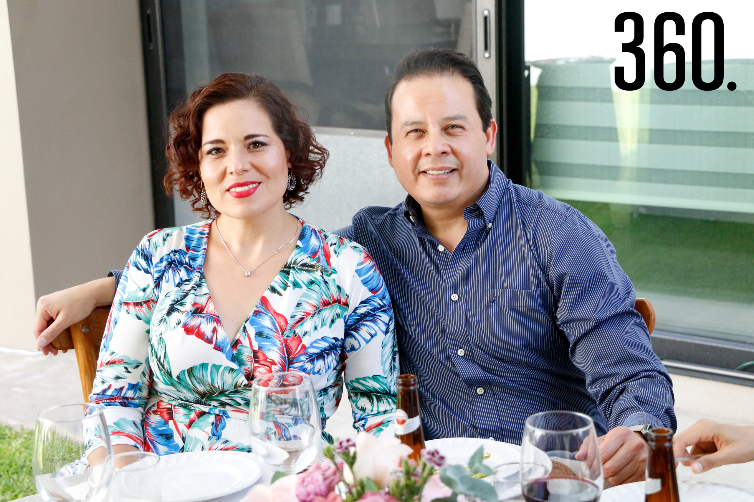 Janette Piceno y Arturo Calleros.