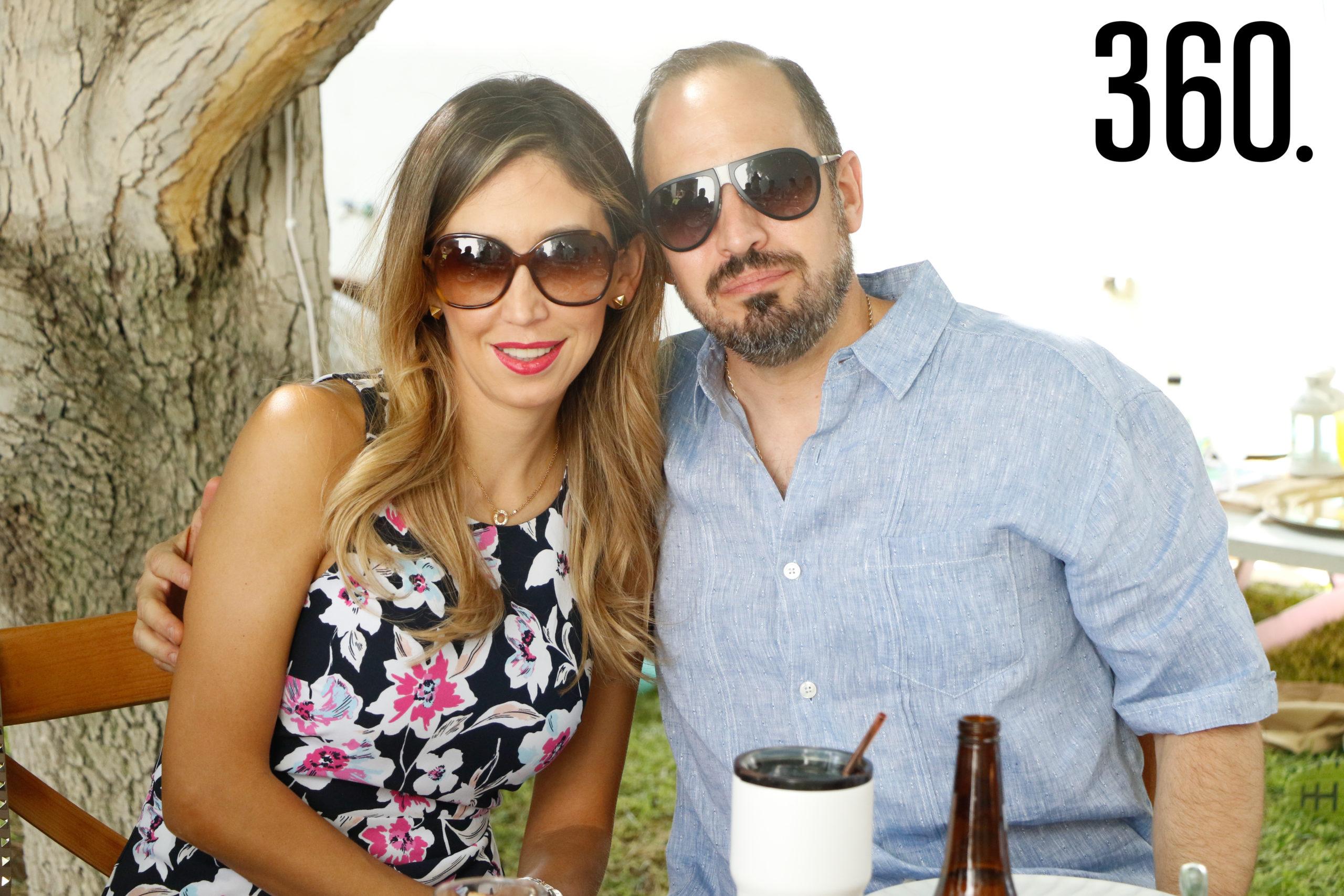 Sara Lozano y Guillermo del Bosque.