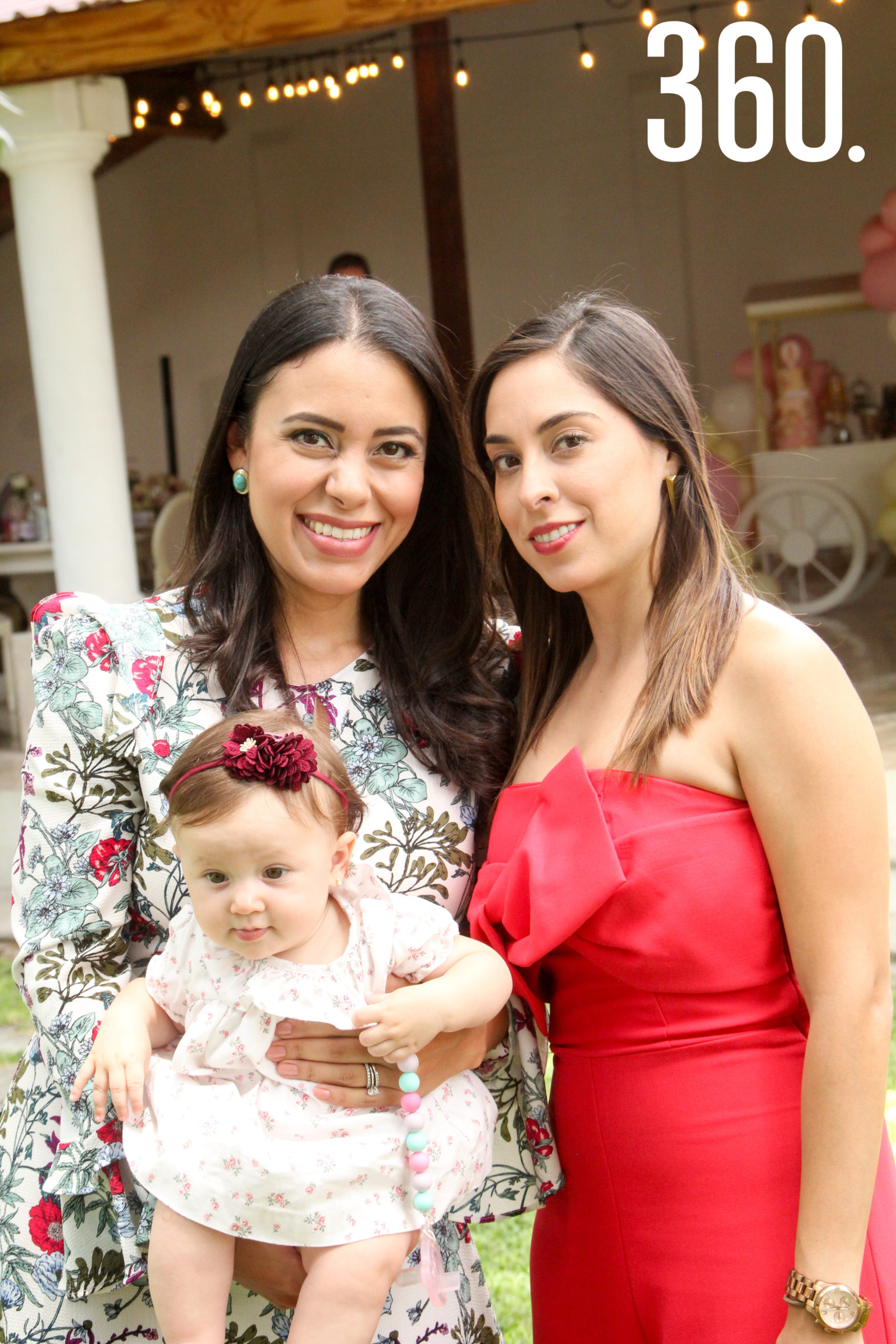 Daniela Aguado, Isabella Galleher y Fernanda Valdéz.