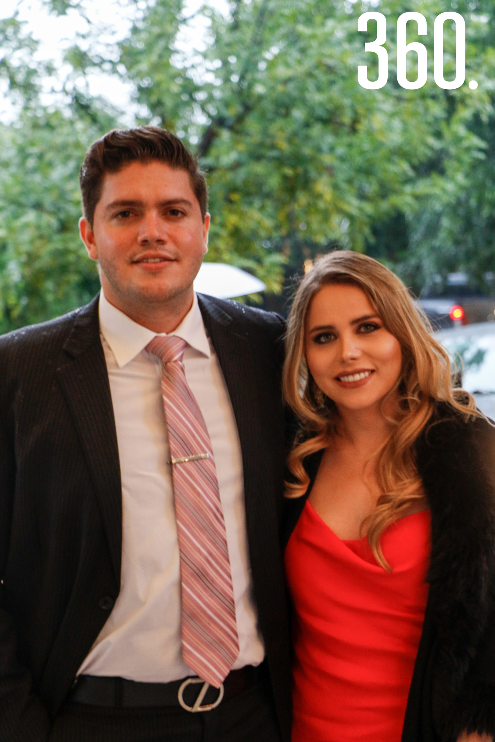 Gerardo López y Daniela Prado.