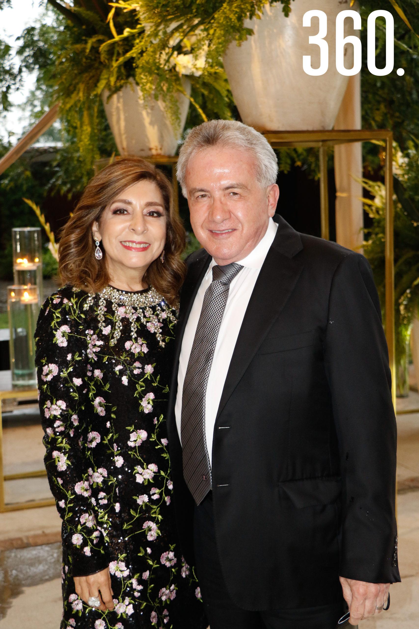 Marielena Saldivar y Carlos Arizpe.