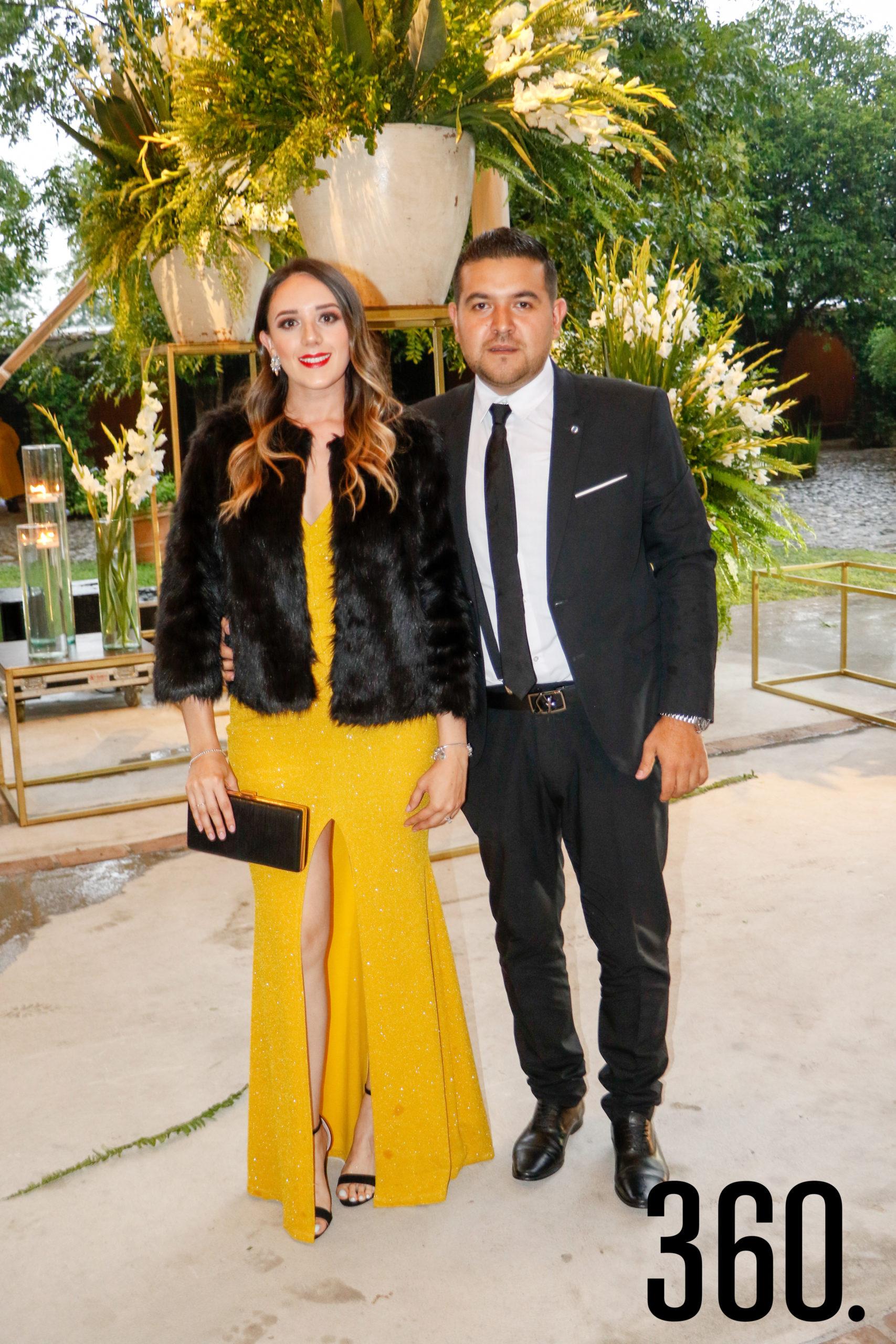 Paola Pepi y José Alfredo Martínez.
