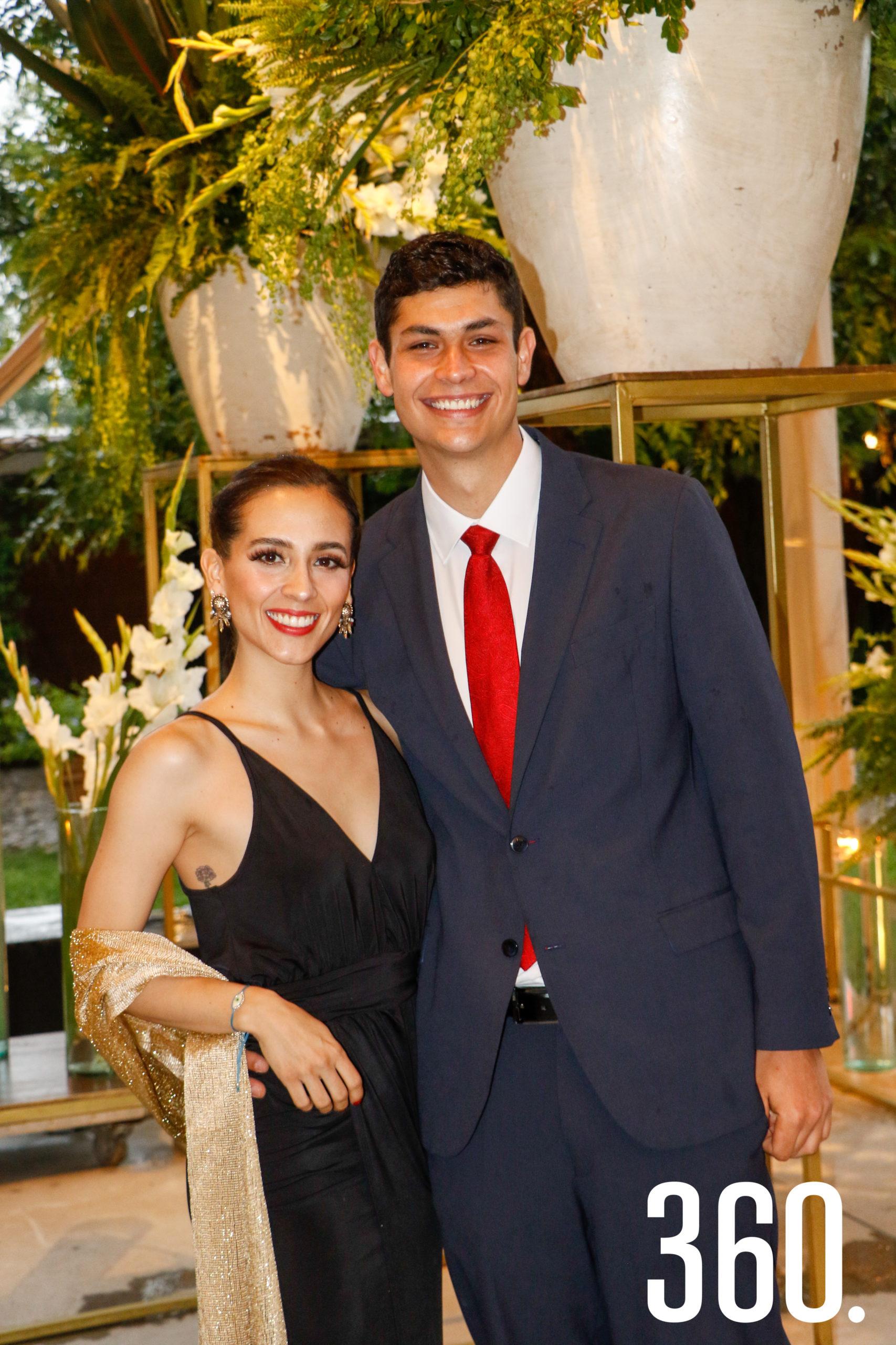 Irene Ortiz y Arturo Prado.