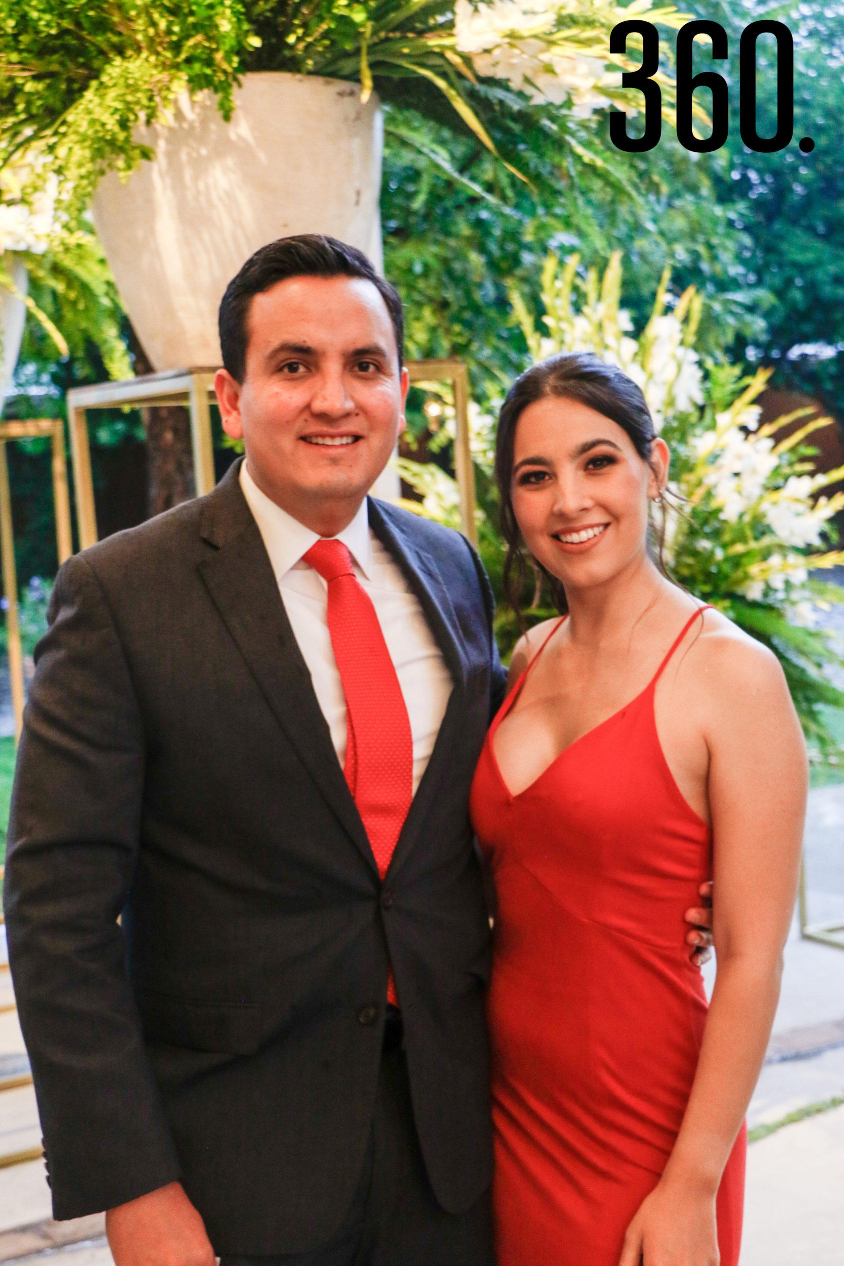 Alejandro Hernández y Lily Zertuche.