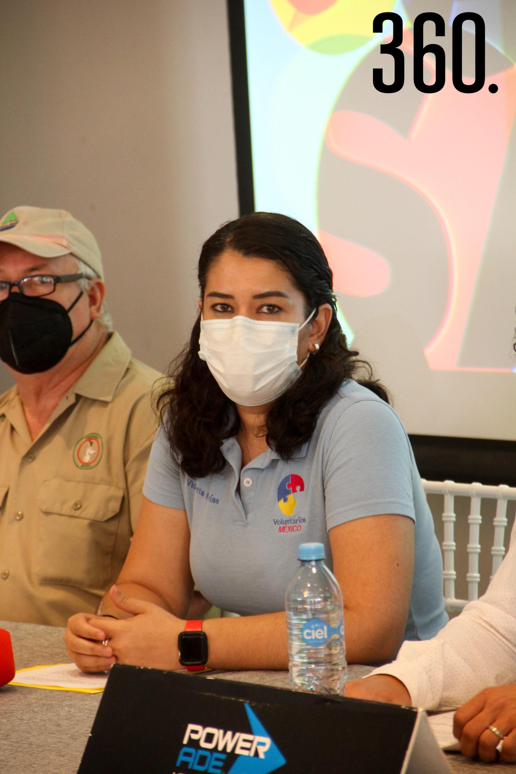 Violetta Farías, directora y fundadora de Voluntarios México.