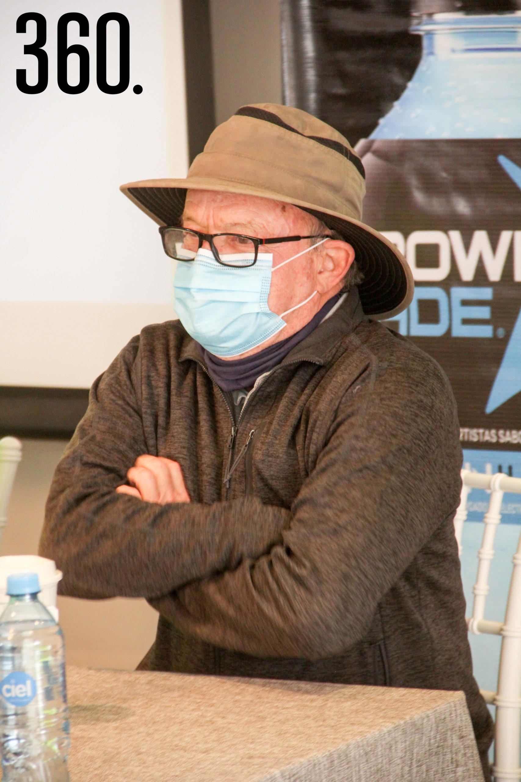 Alejandro Arizpe, director de Conservación San Lorenzo.