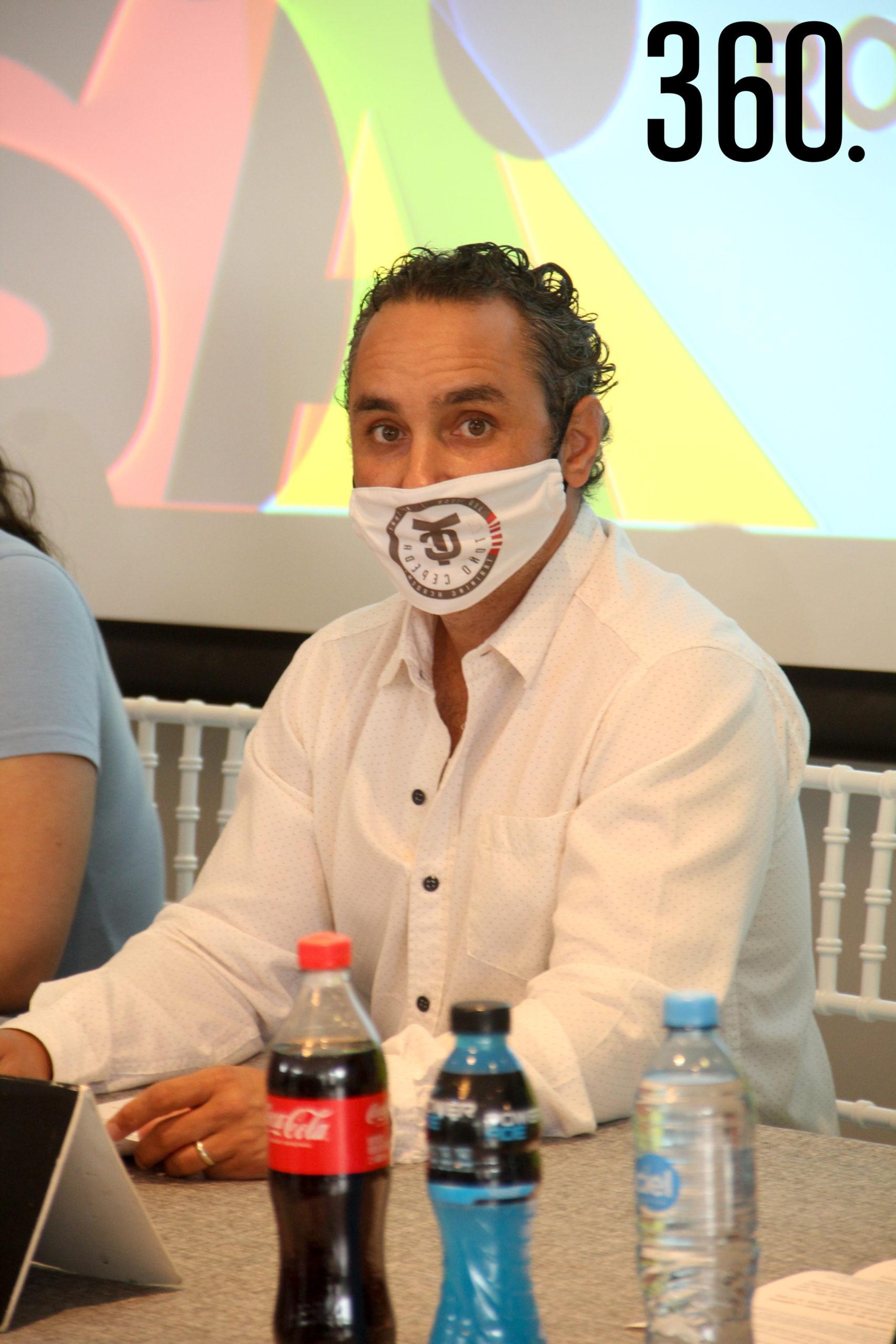 Antonio Cepeda del Instituto Municipal del Deporte.
