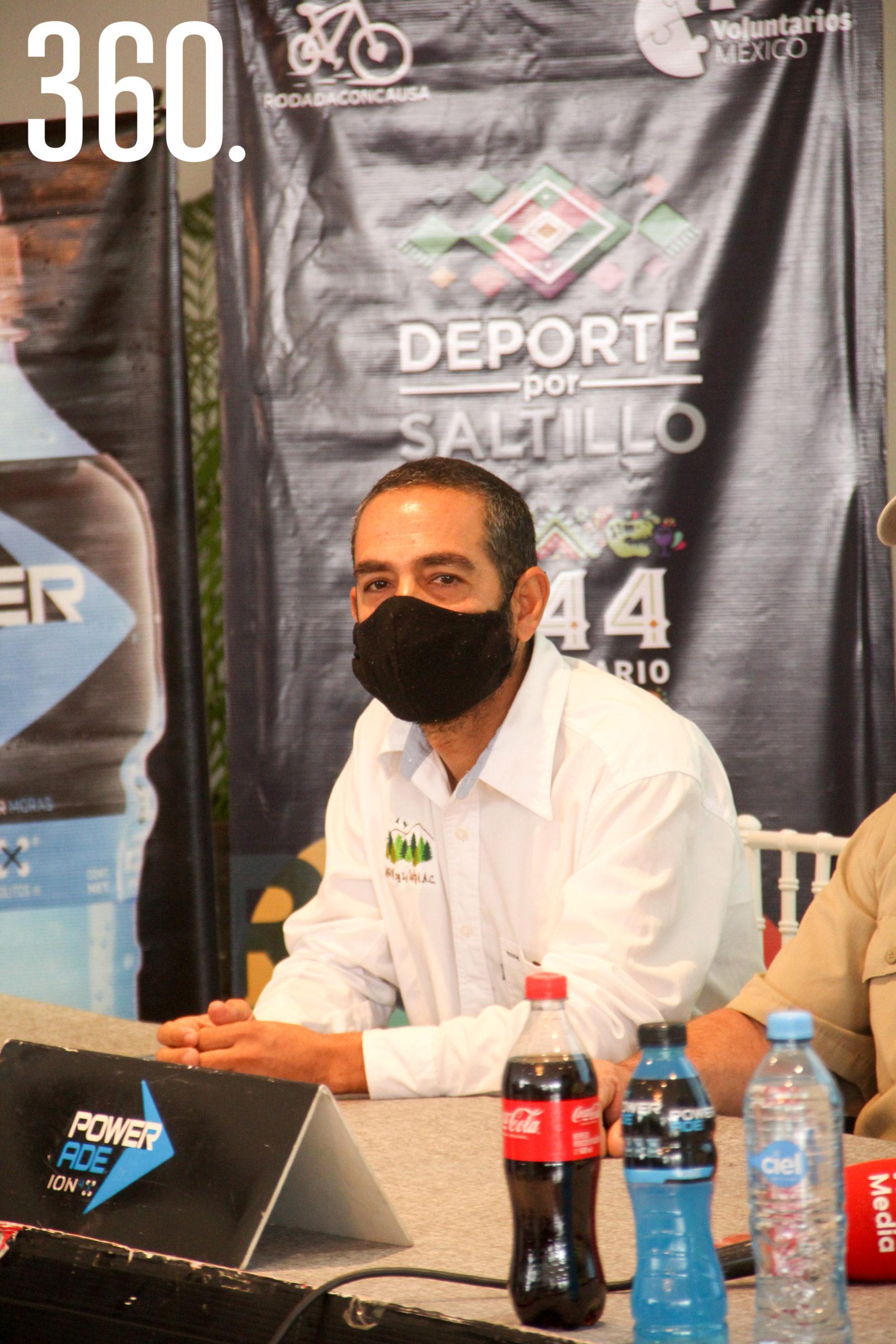 David Valladares, director de Amigos de la Sierra A.C.