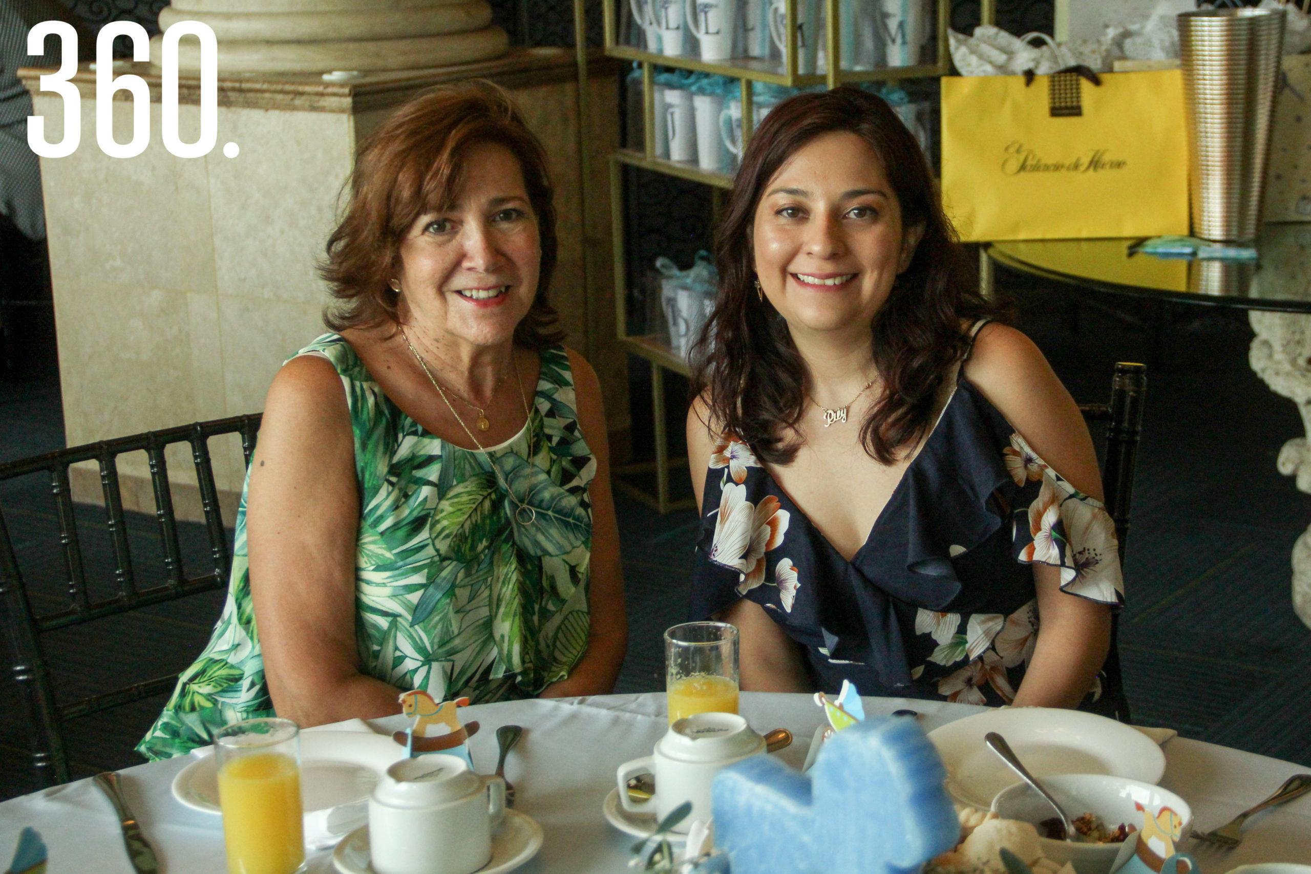 Pilar Fernández de Mier y Pilar Mier.