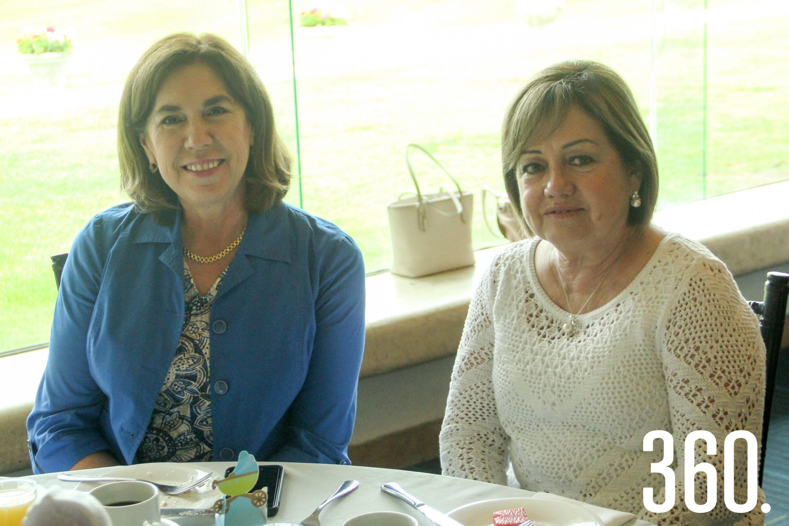 Guadalupe Risoul y Laura Martínez.