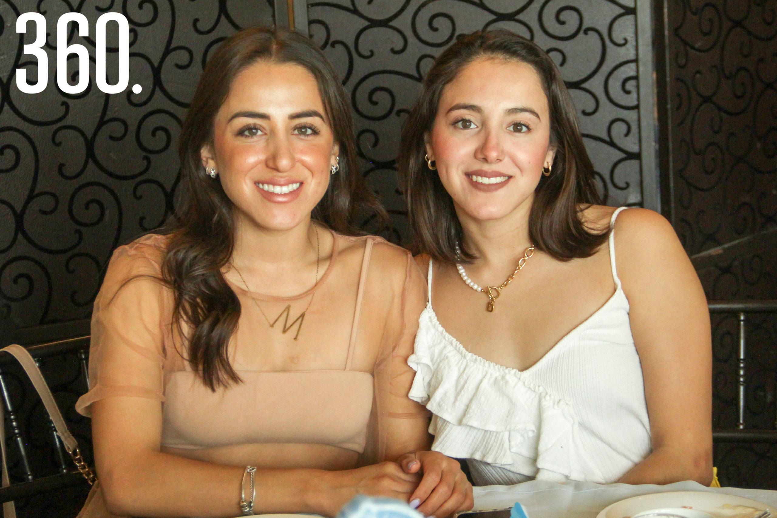 Daniela y Monserrat Ramírez.