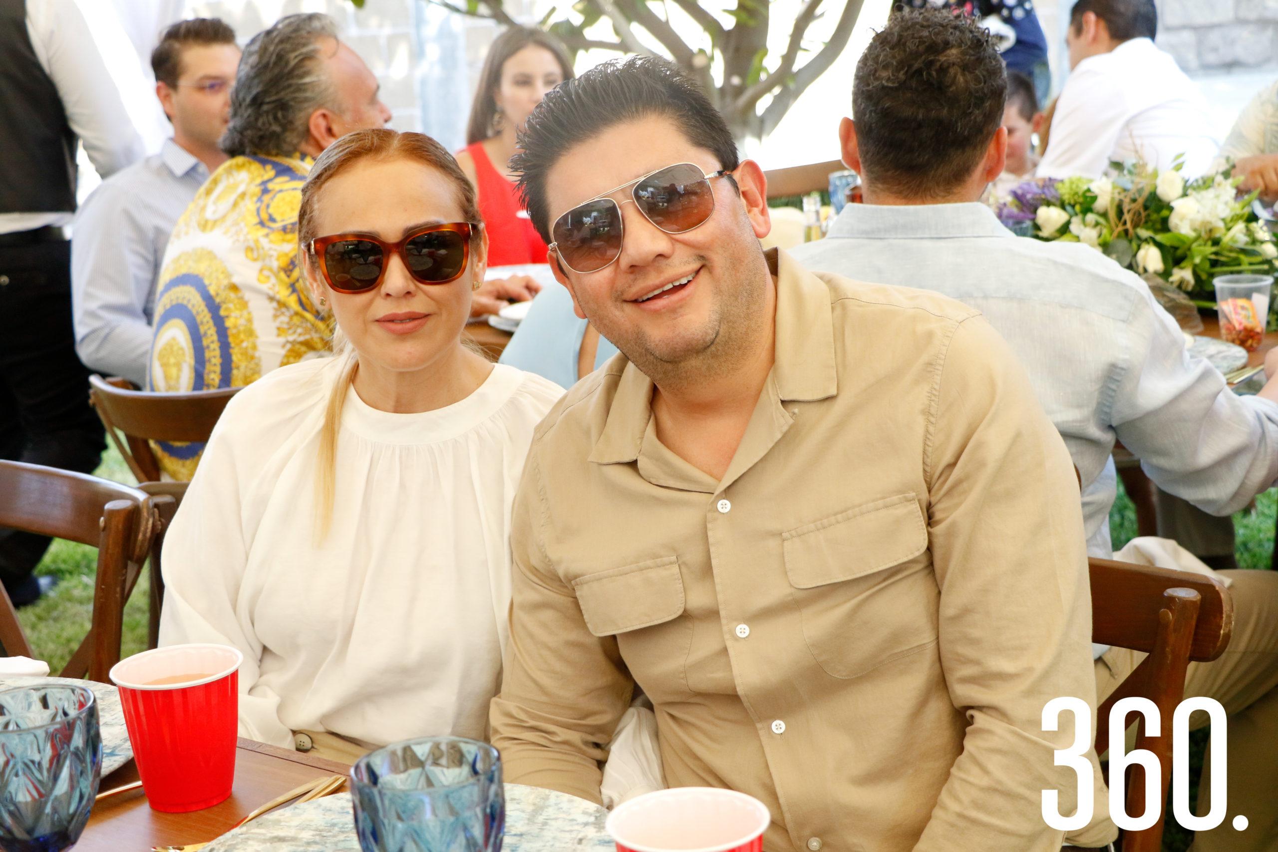 Valery Picasso y Carlos Alejandro Robles.