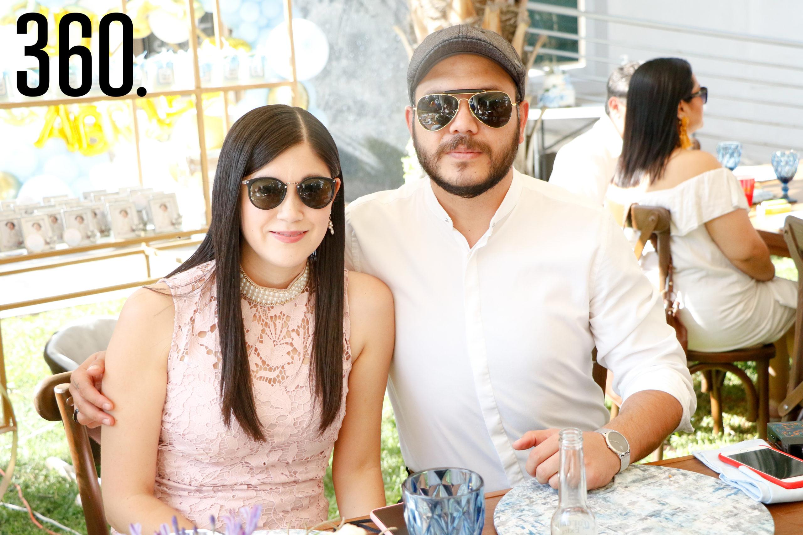 Karla Medina y Edgar González.