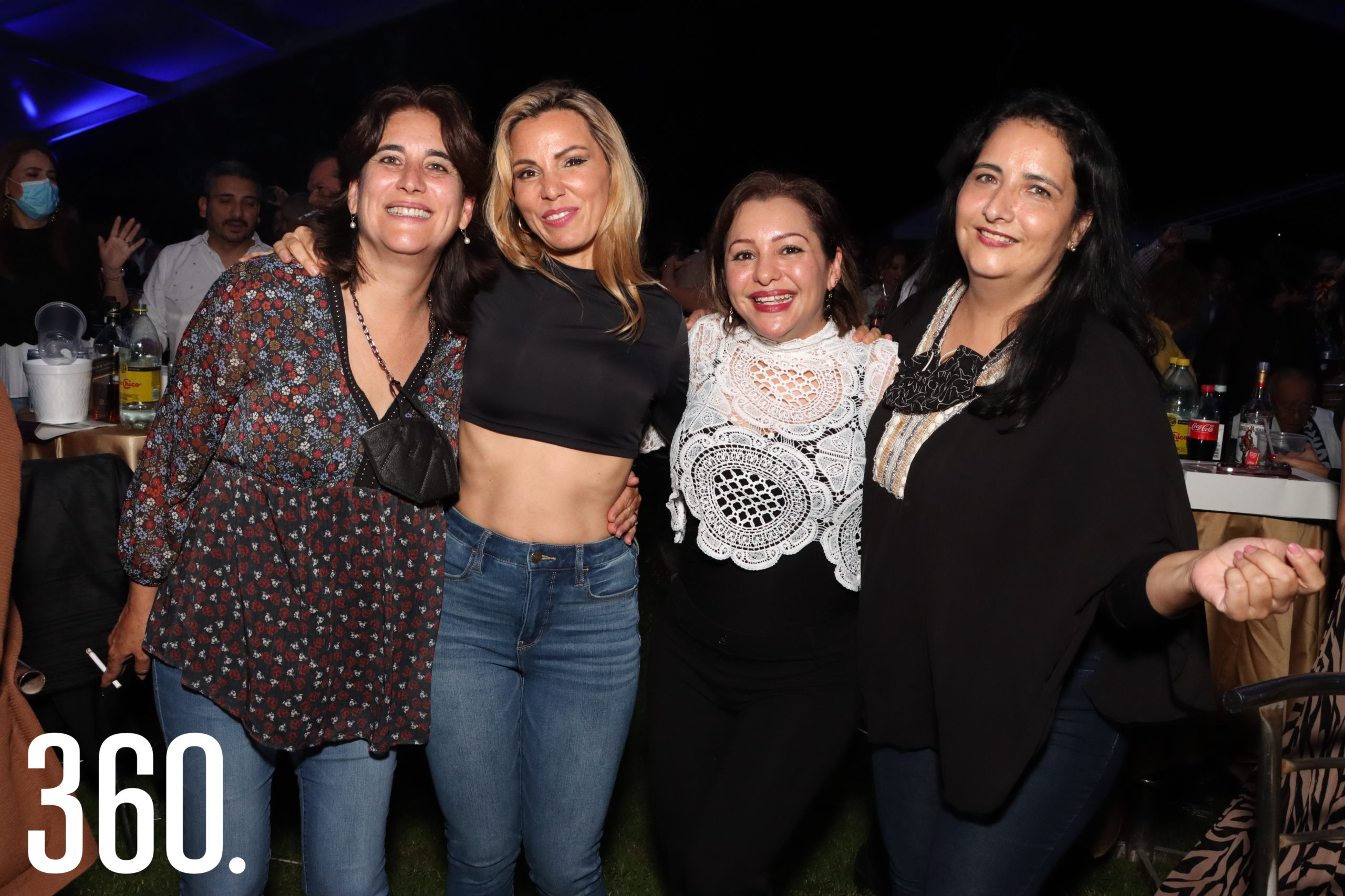 Rebeca Cárdenas, Melissa Cavazos, Verónica Rivera e Irma Cárdenas.
