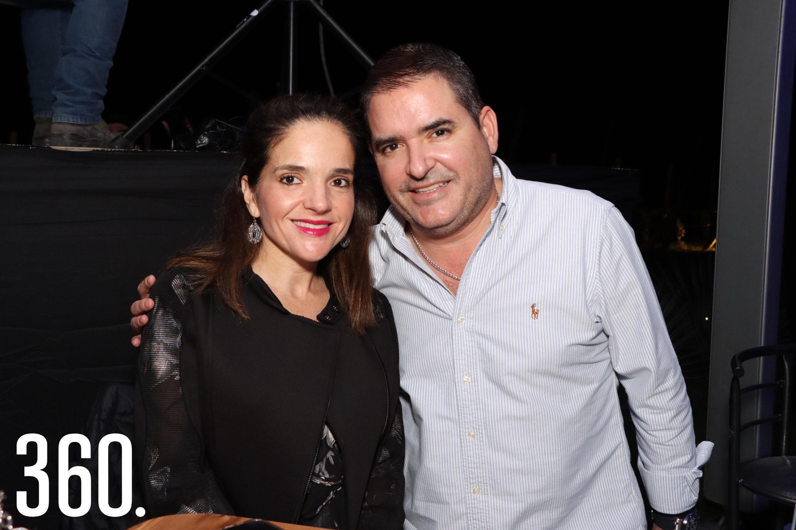 Alejandra Garza y Carlos Morales.