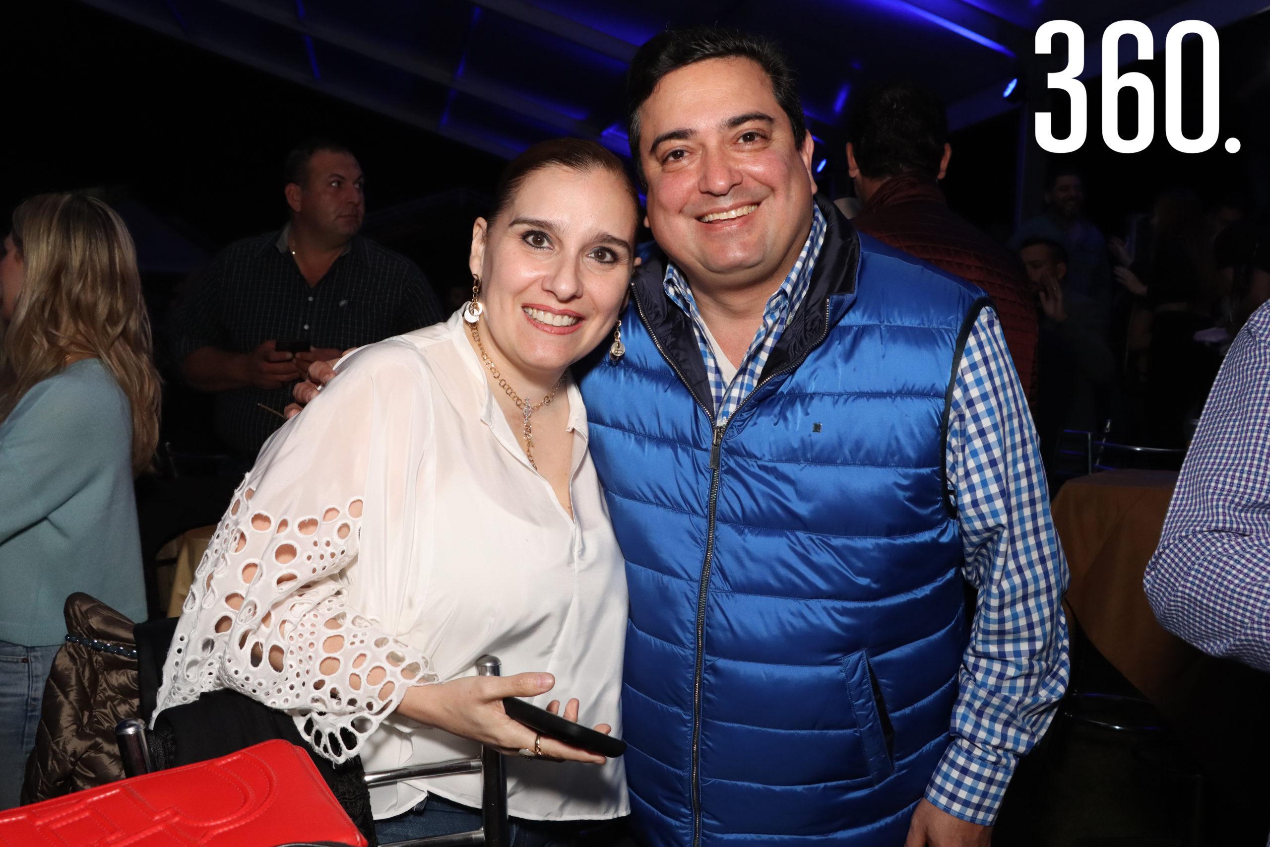 Adriana Soto y Alfonso García.