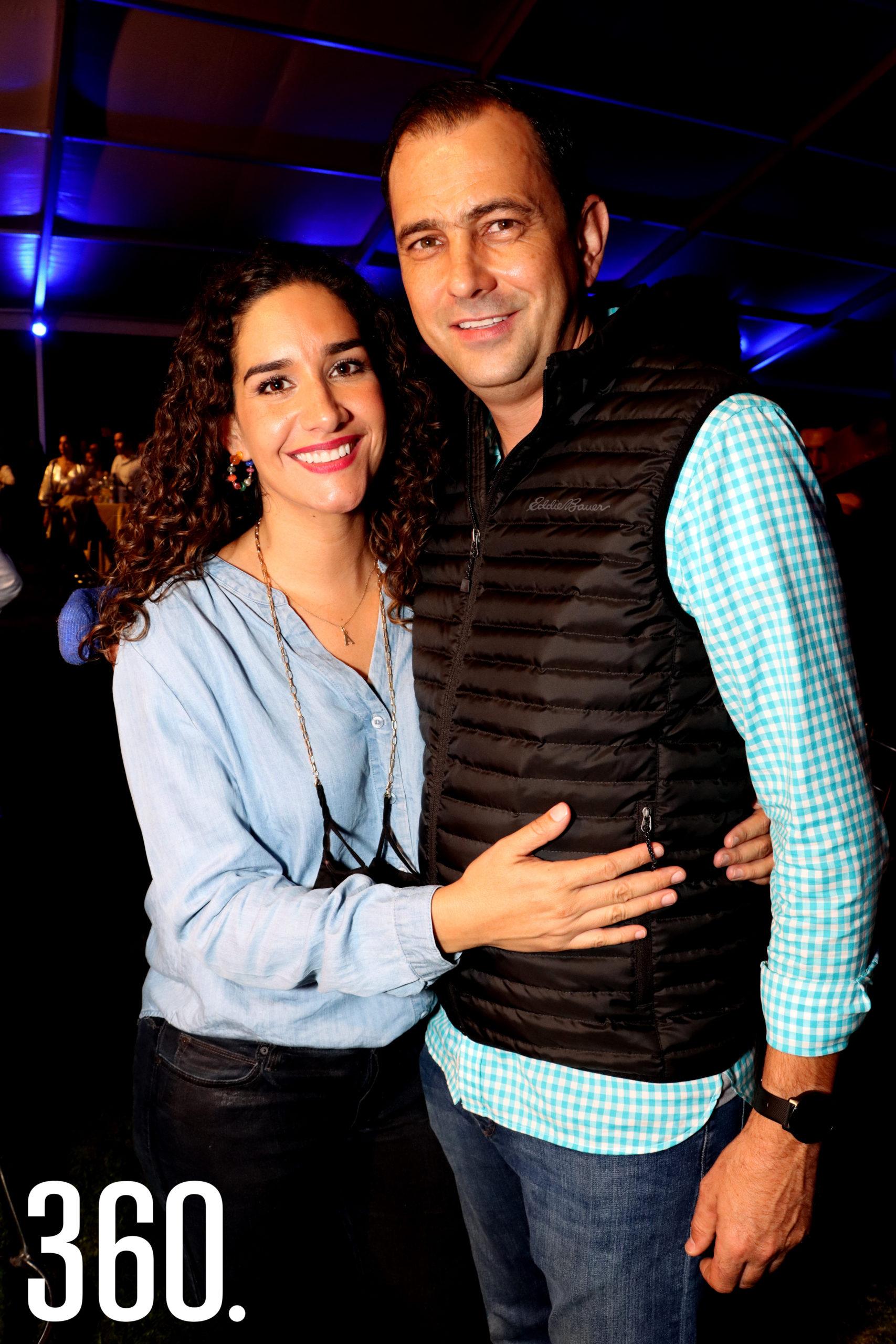 Sandra Pérez y José Recio.